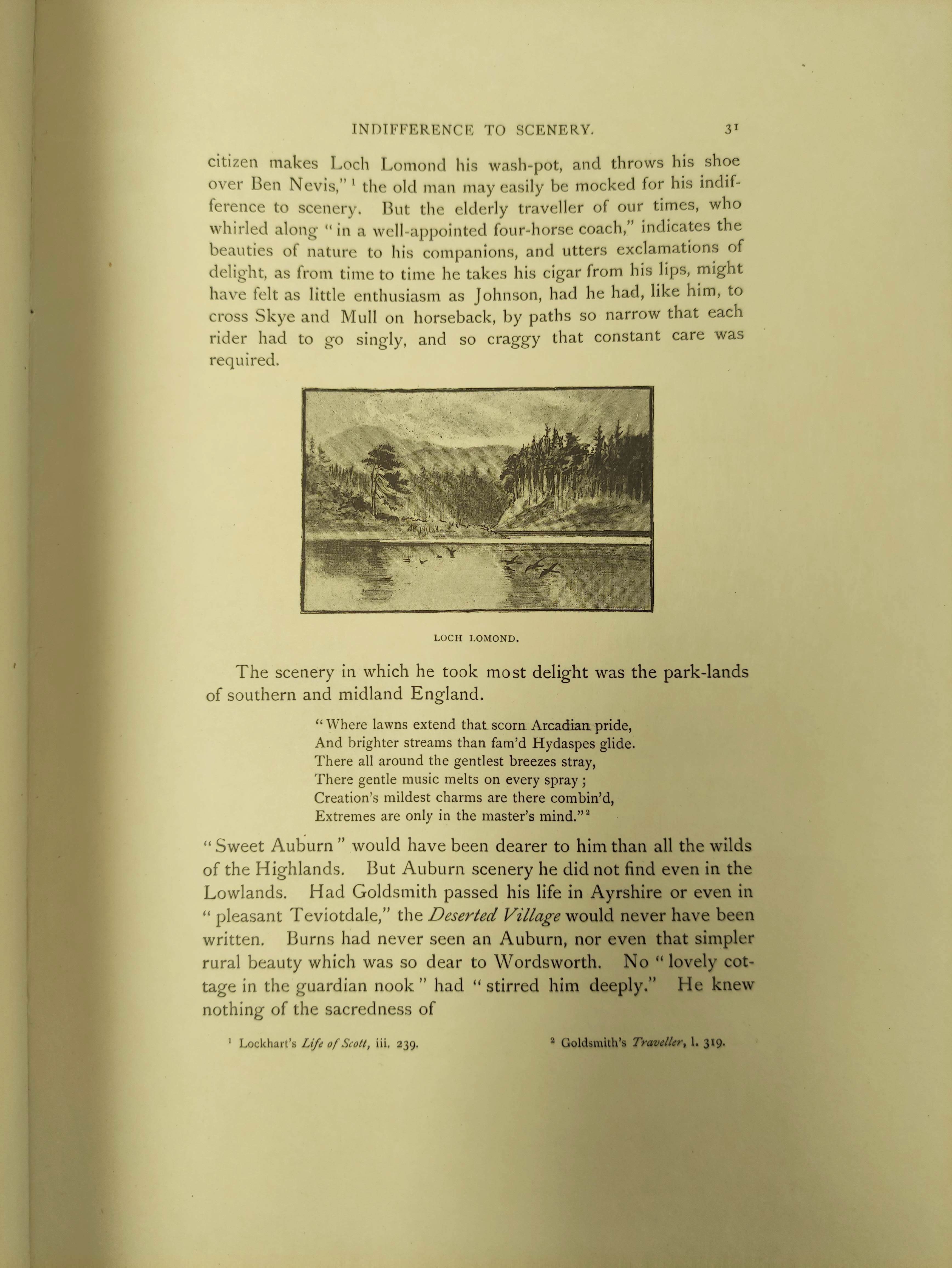 BIRKBECK HILL GEORGE.Footsteps of Dr. Johnson. Edition Deluxe. Plates. Unbound leaves in card - Image 9 of 10