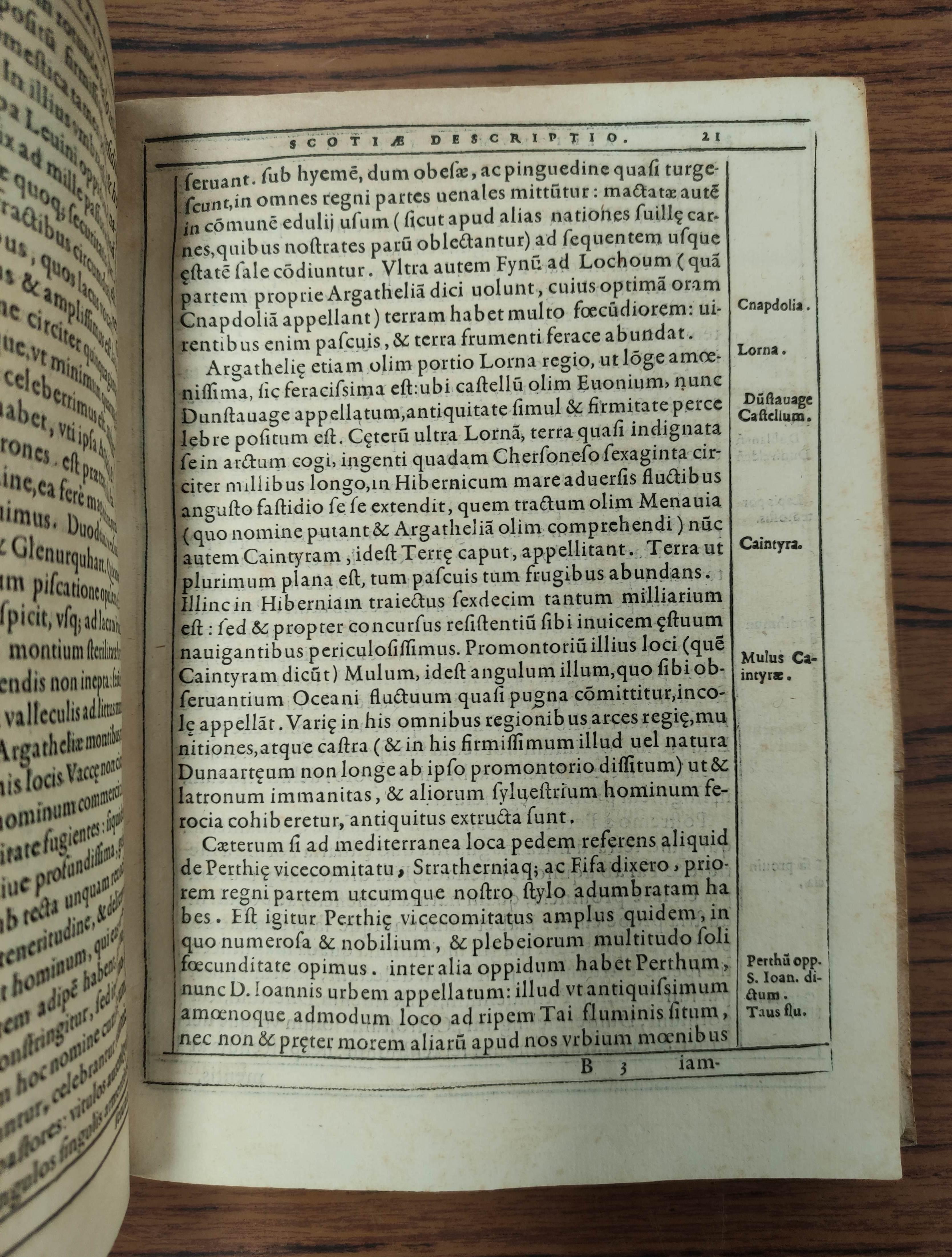 LESLIE JOHN,Bishop of Ross. De Origine Moribus & Rebus Gestis Scotorum. Part 1 only, concluding - Image 5 of 8