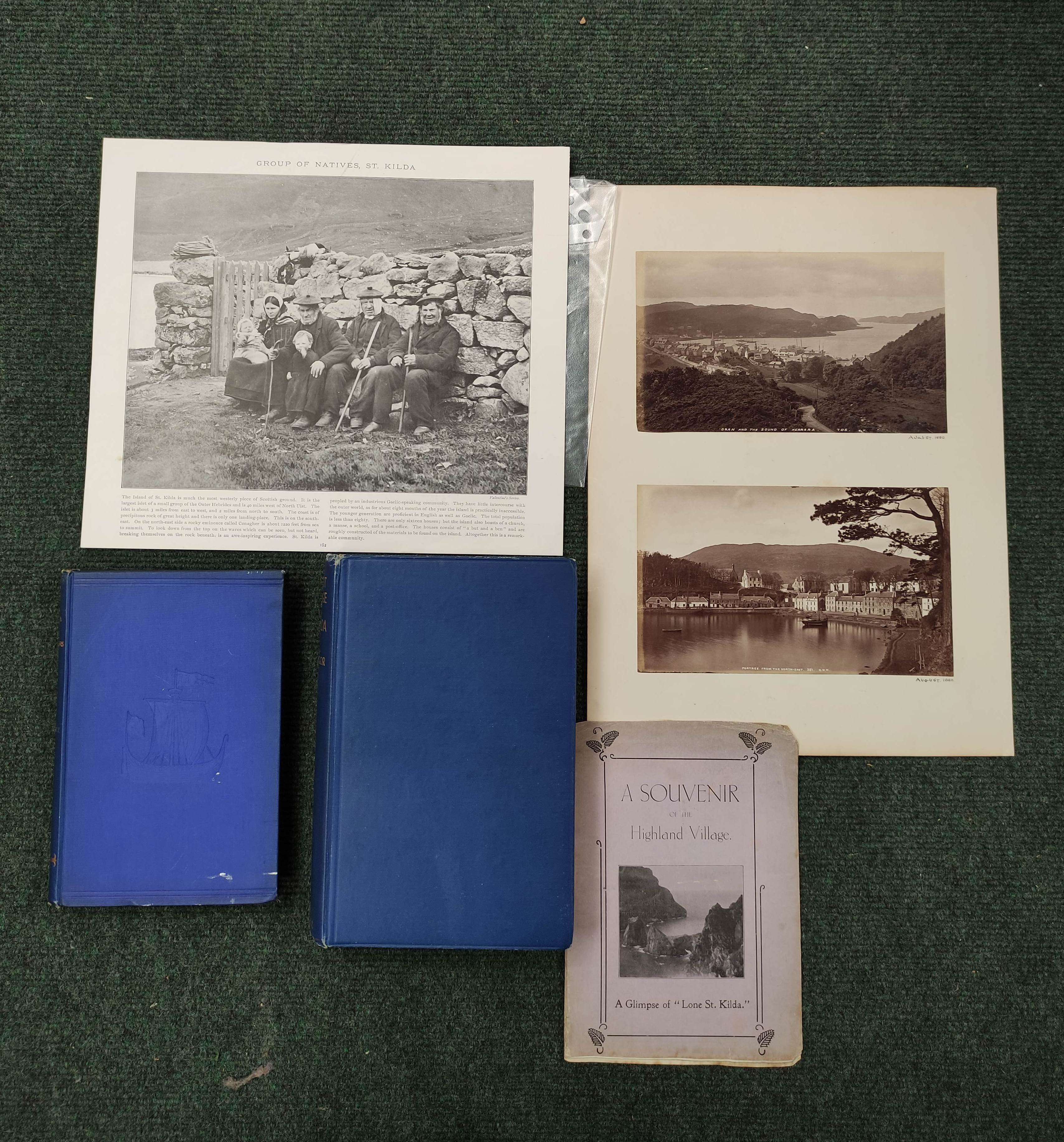 CONNELL ROBERT.St. Kilda & the St. Kildians.Orig. blue cloth. 1887; also one or two other items
