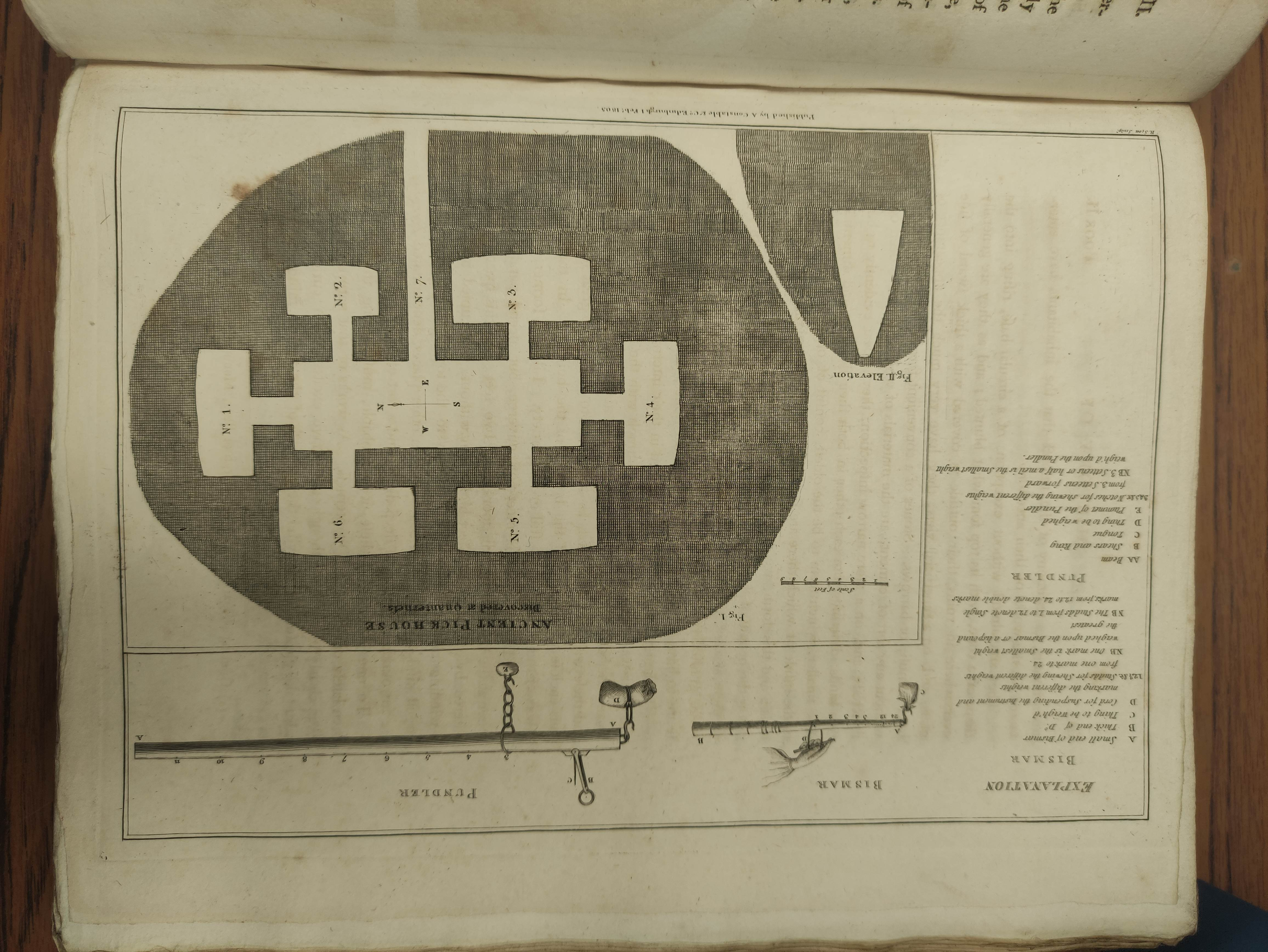 BARRY GEORGE. The History of the Orkney Islands. Fldg. eng. map & eng. plates. Quarto. Rebacked - Image 7 of 13