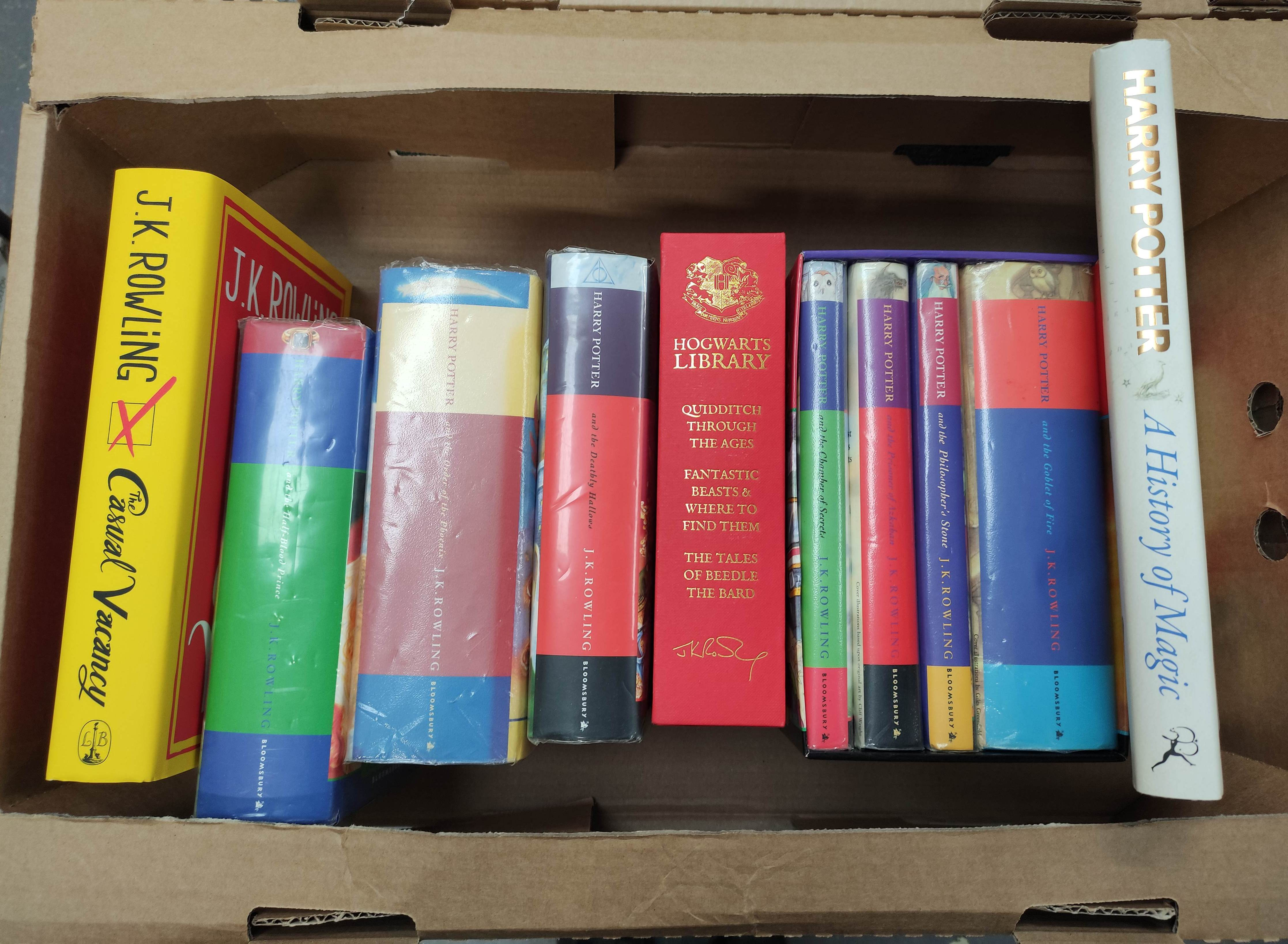 ROWLING J. K.Various vols. incl. 1st's in d.w's of Half-Blood Prince, Order of the Phoenix &