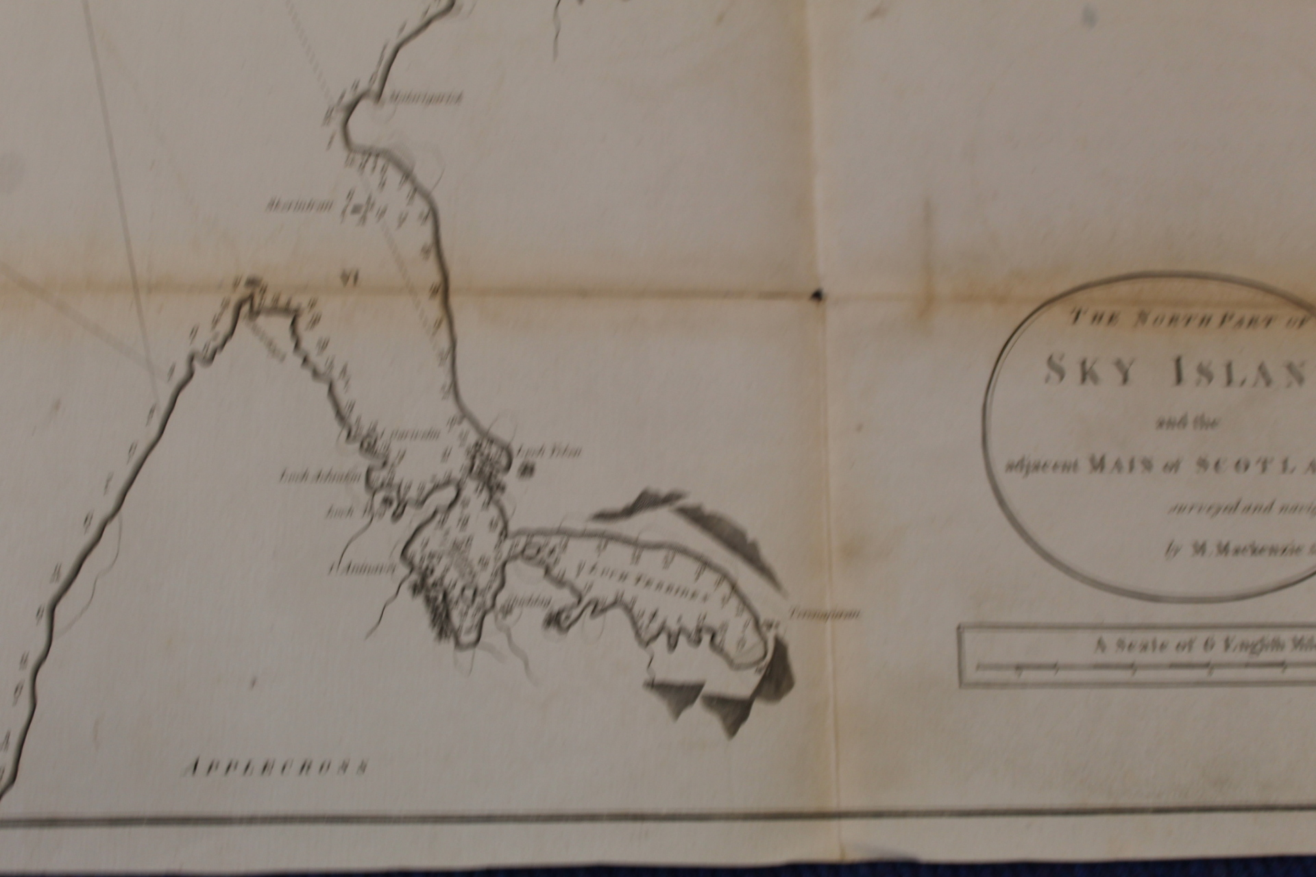 MACKENZIE MURDOCH (SNR.).A General Chart of the West Coast & Western Islands of Scotland from - Image 53 of 66