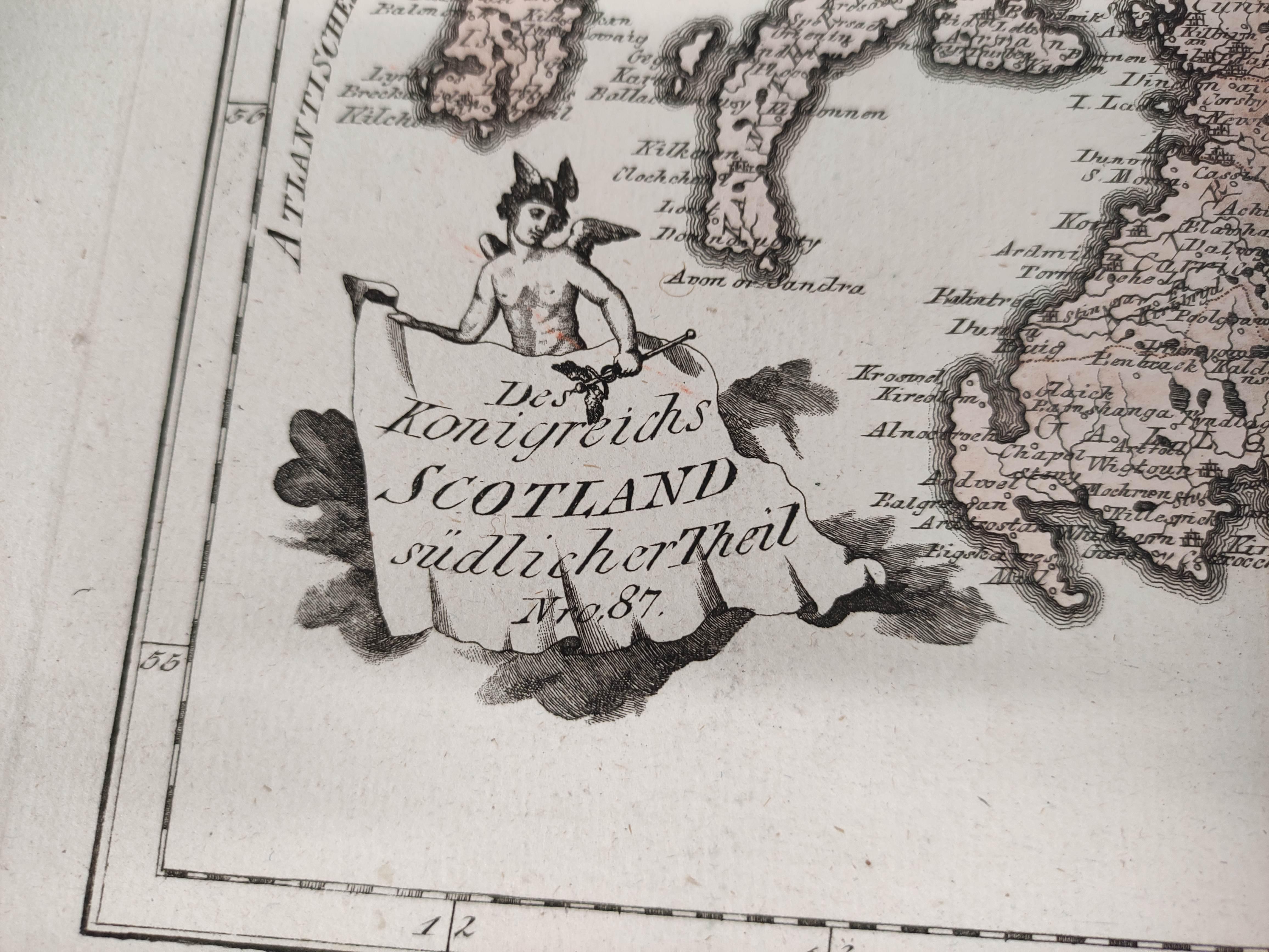 (VON REILLY F. J. J.). Maps. Die Insel Lewis, no. 686, Die Insel Skye, no. 687 & 5 other hand - Image 5 of 5