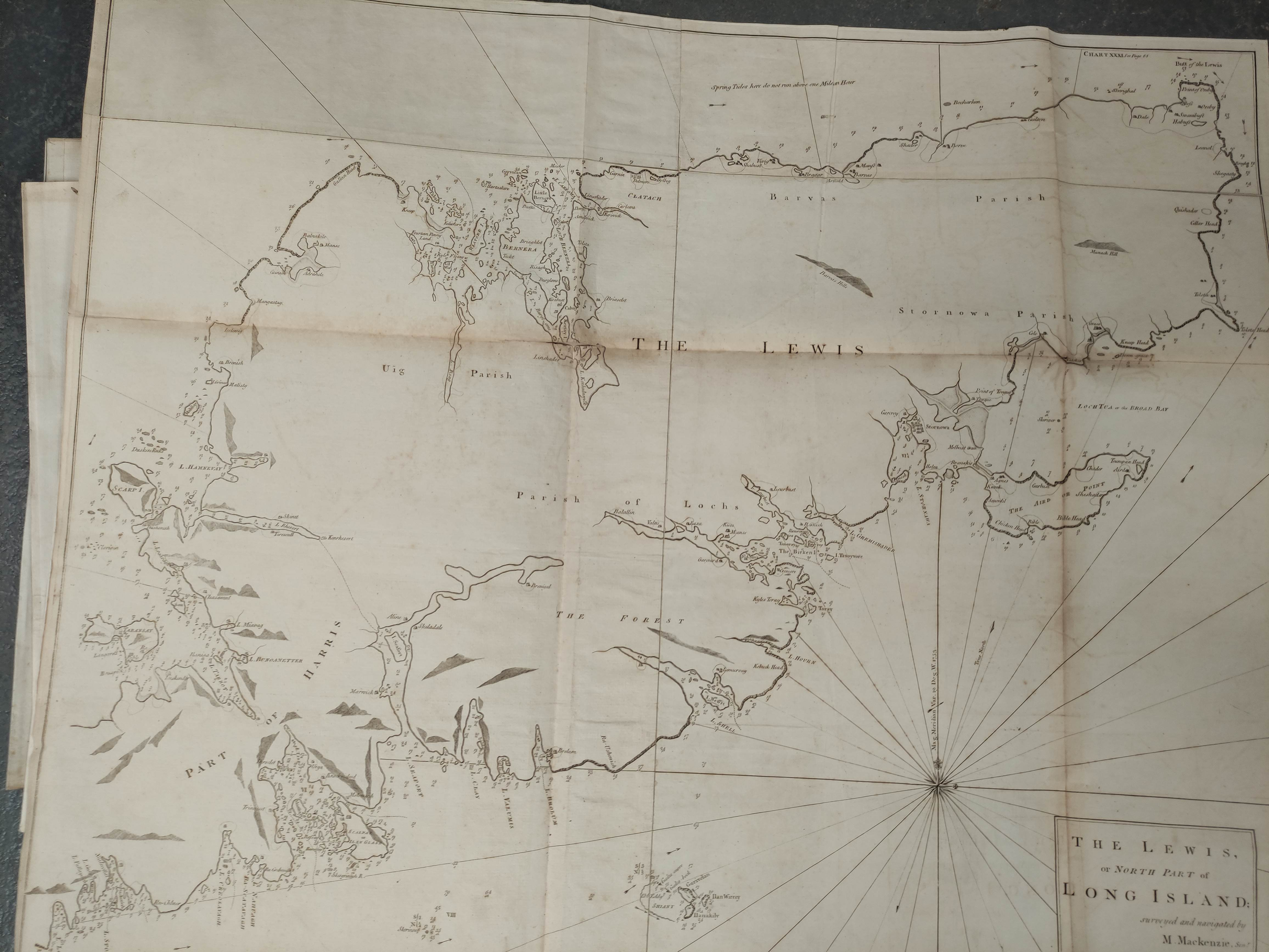 MACKENZIE MURDOCH (SNR.).A General Chart of the West Coast & Western Islands of Scotland from - Image 6 of 66