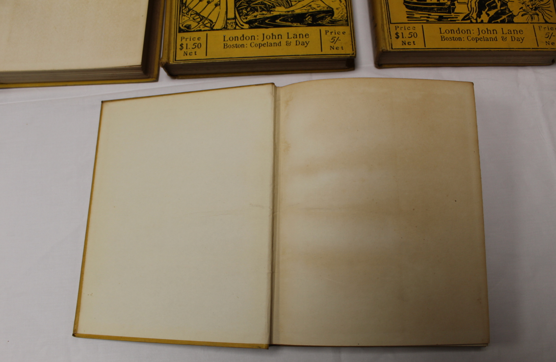THE YELLOW BOOK.An Illustrated Quarterly. A set of 13 vols., many fine illus. Small quarto. - Image 26 of 45