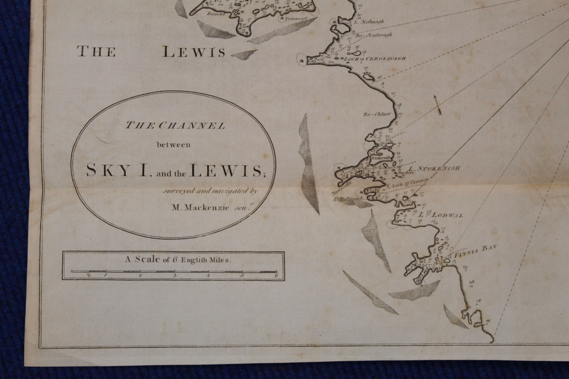 MACKENZIE MURDOCH (SNR.).A General Chart of the West Coast & Western Islands of Scotland from - Image 42 of 66