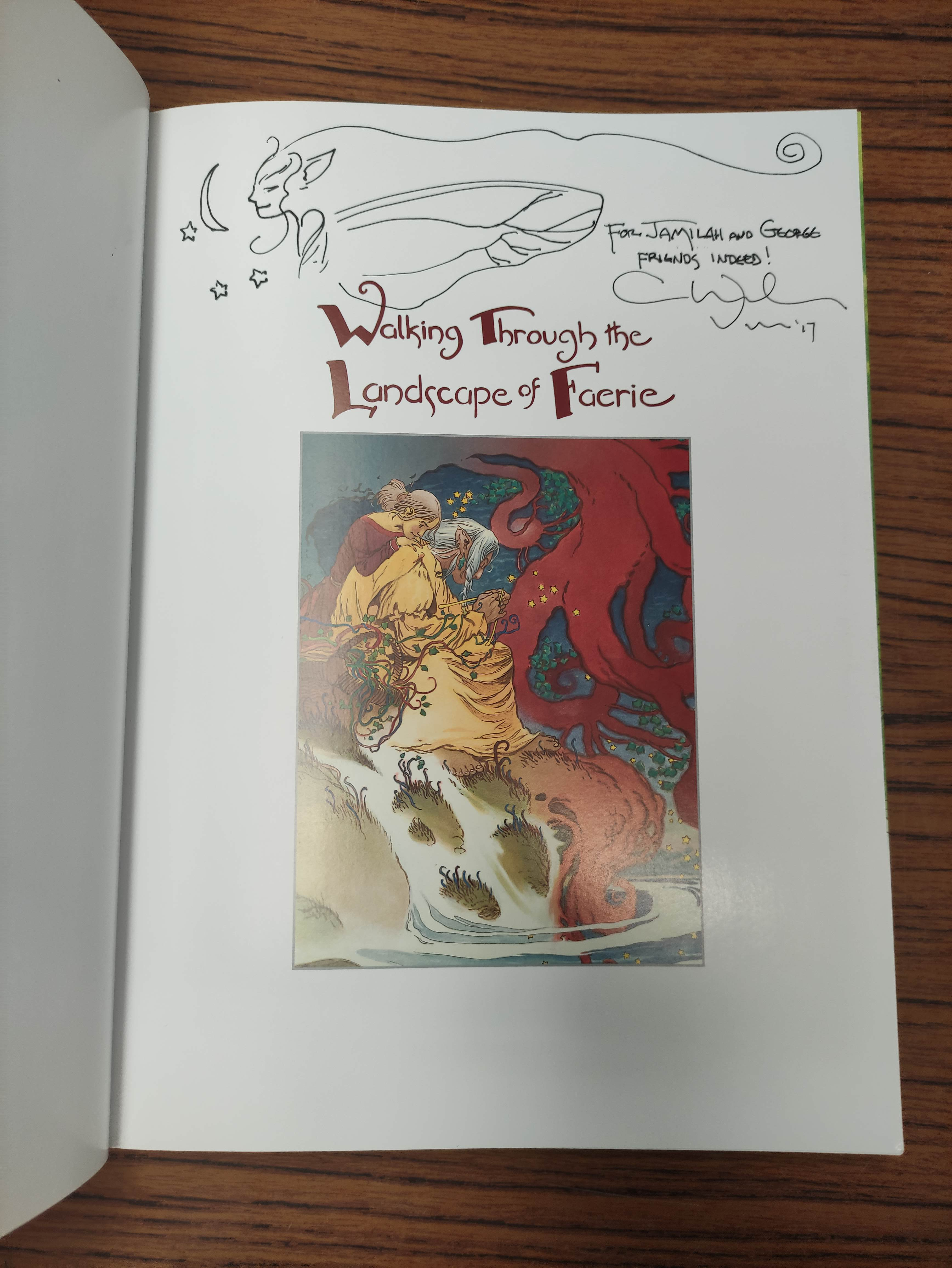 VESS CHARLES.Coloring Book. 5 copies, unused. Each signed by Vess; also 2 other vols. (6). - Image 10 of 14