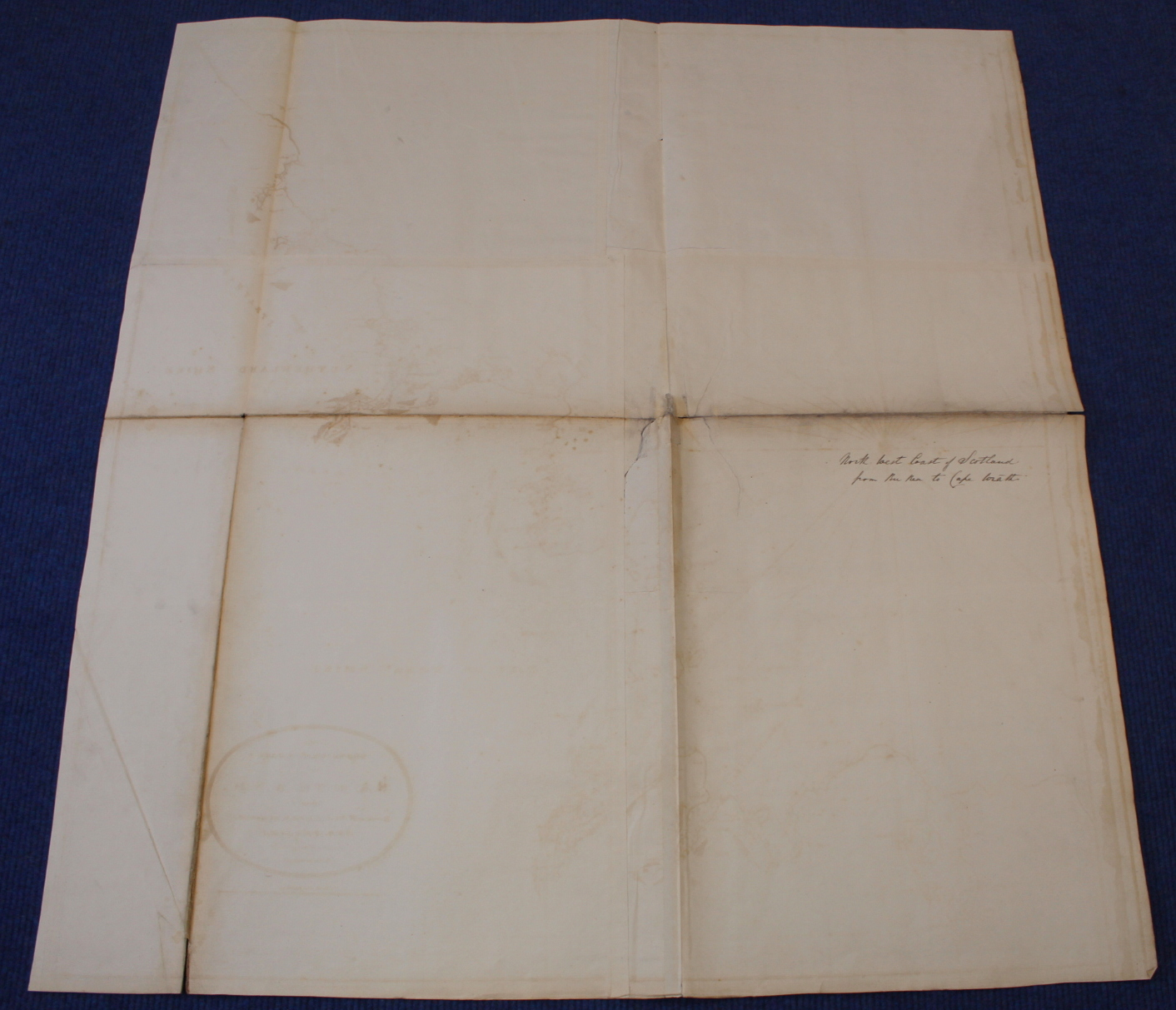 MACKENZIE MURDOCH (SNR.).A General Chart of the West Coast & Western Islands of Scotland from - Image 36 of 66