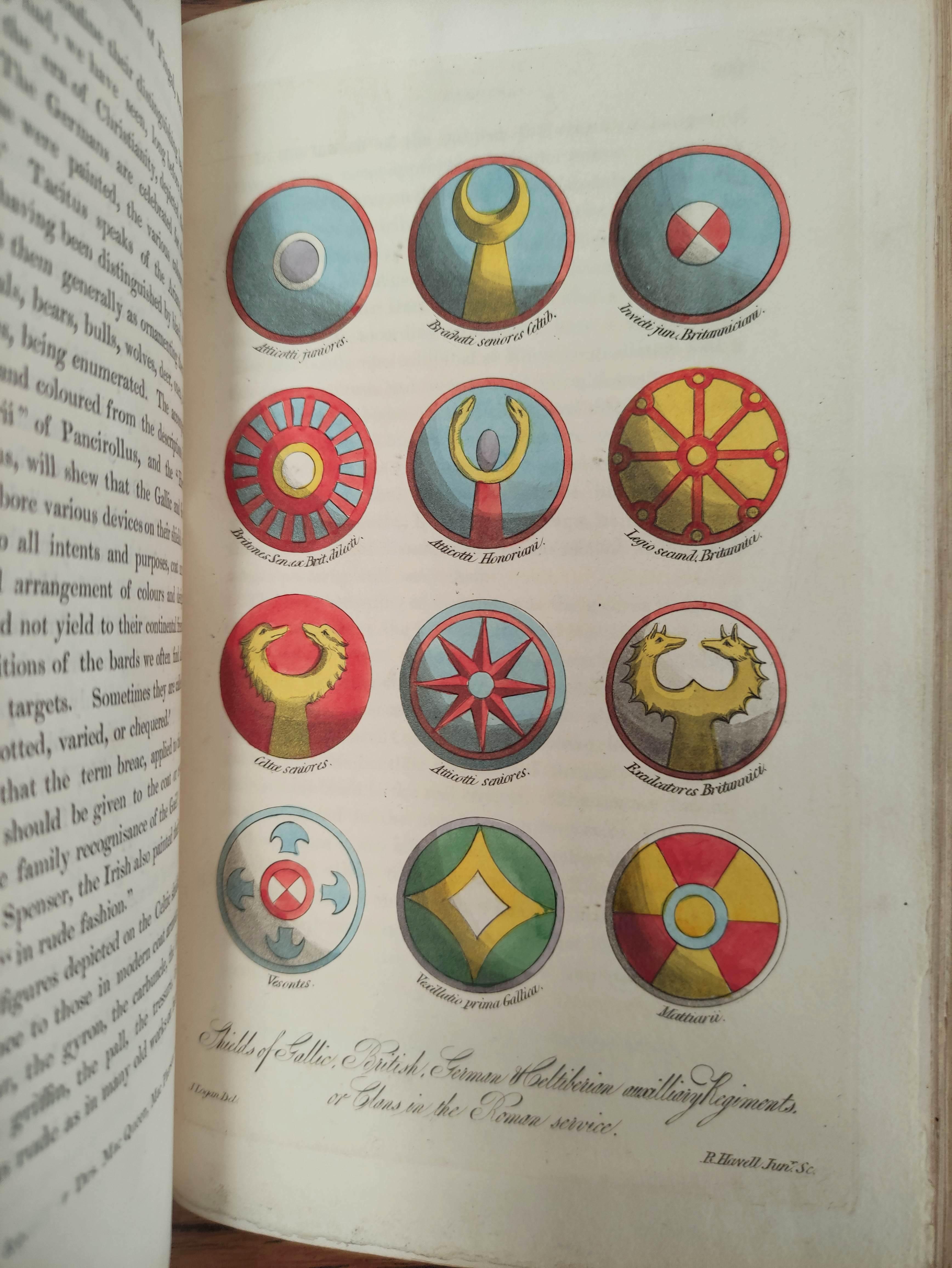 LOGAN JAMES.The Scottish Gael. 2 vols. Col. frontis & text illus. Half green morocco. A nice - Image 6 of 10