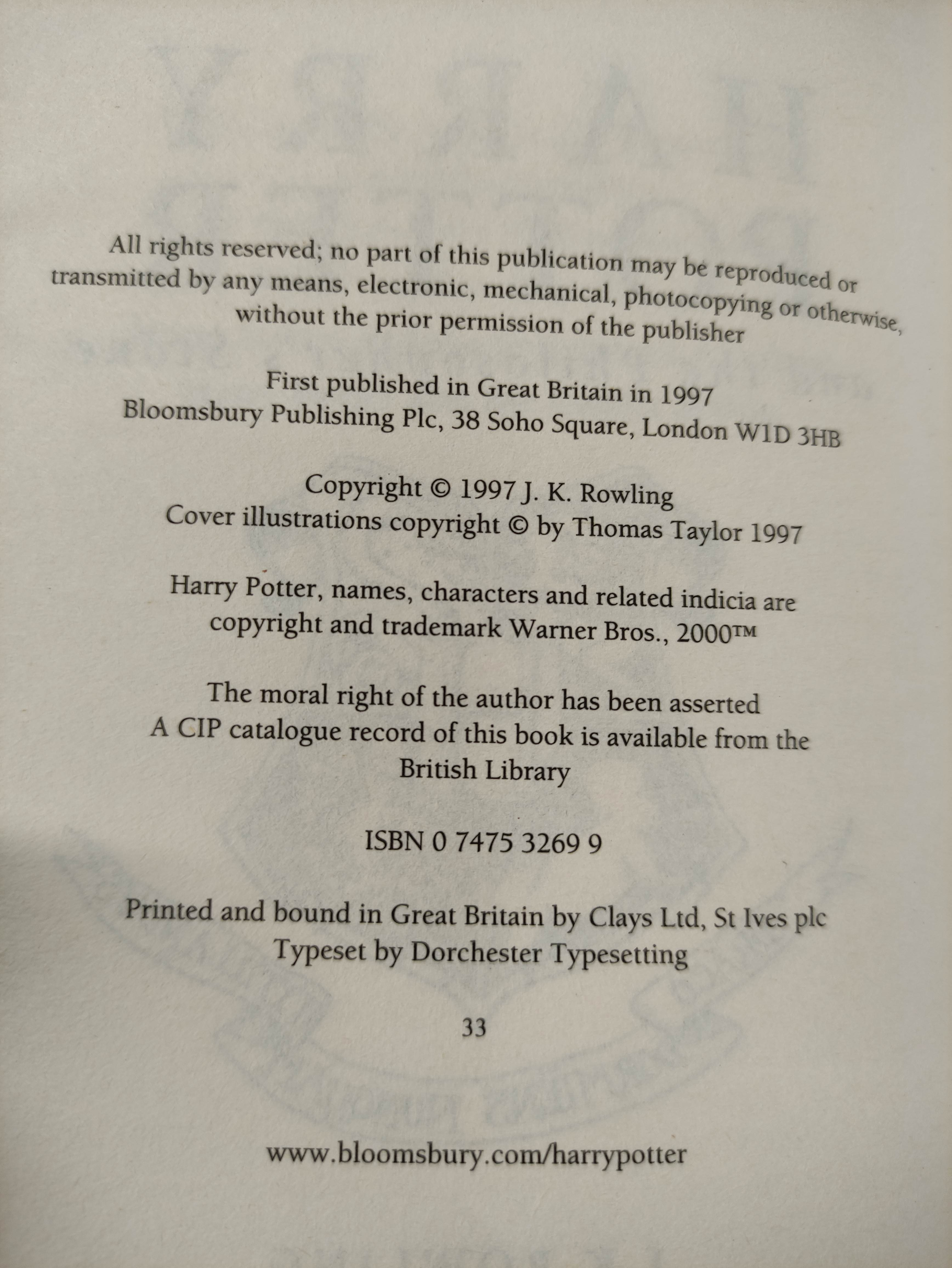 ROWLING J. K.Various vols. incl. 1st's in d.w's of Half-Blood Prince, Order of the Phoenix & - Image 5 of 5