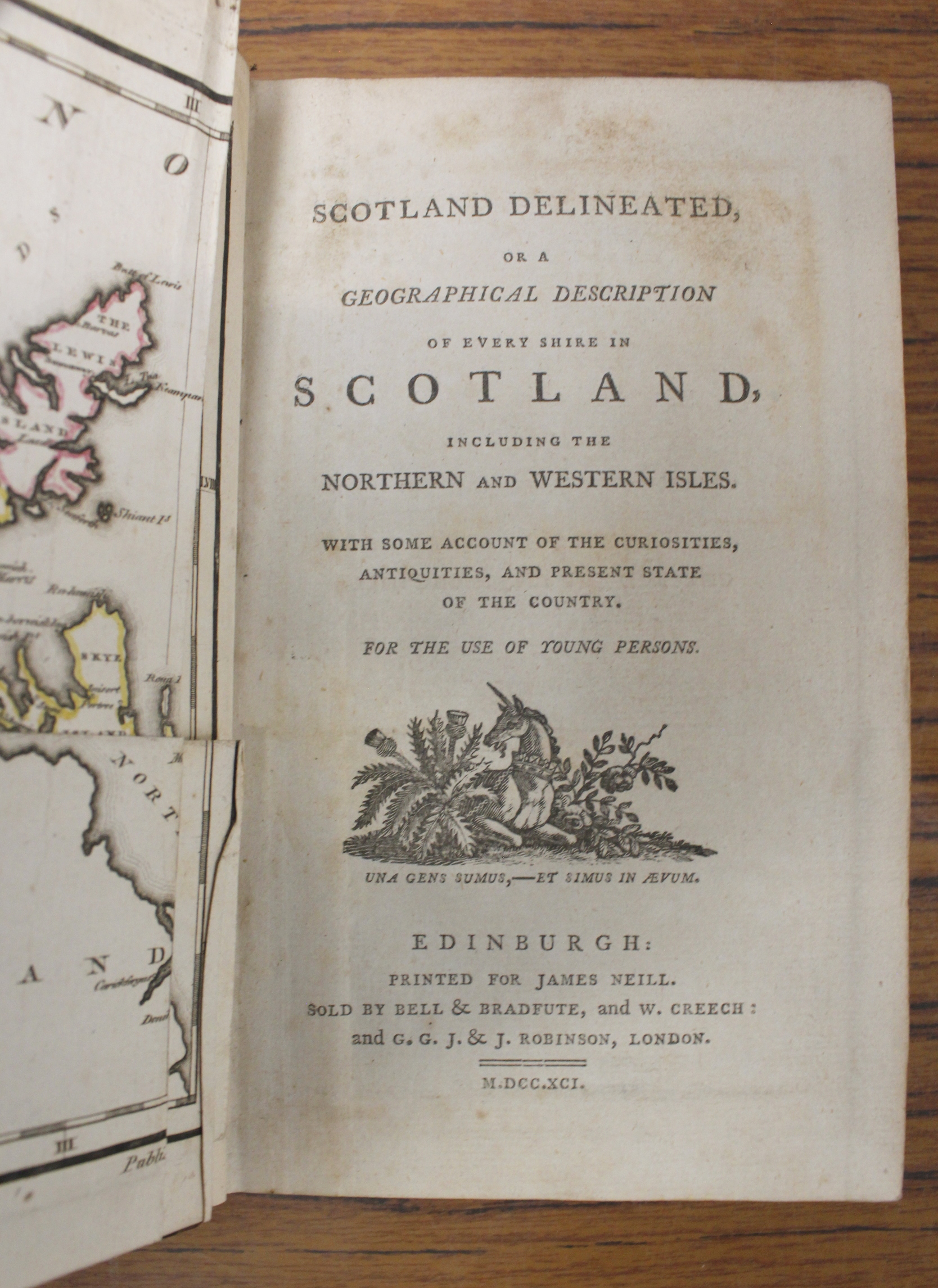 MACCULLOCH JOHN.A Description of the Western Islands of Scotland including the Isle of Man. 3 - Image 4 of 6