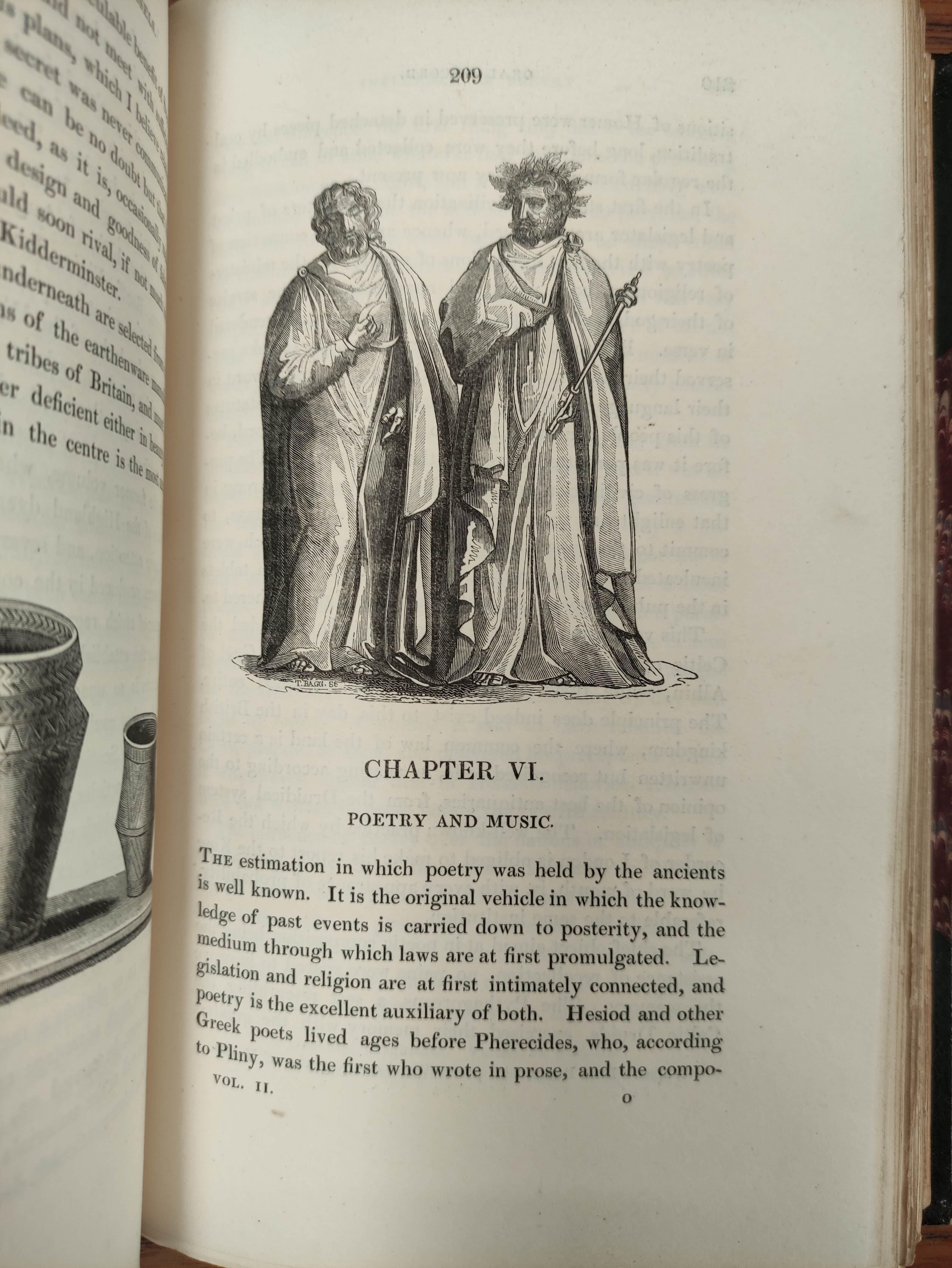 LOGAN JAMES.The Scottish Gael. 2 vols. Col. frontis & text illus. Half green morocco. A nice - Image 10 of 10