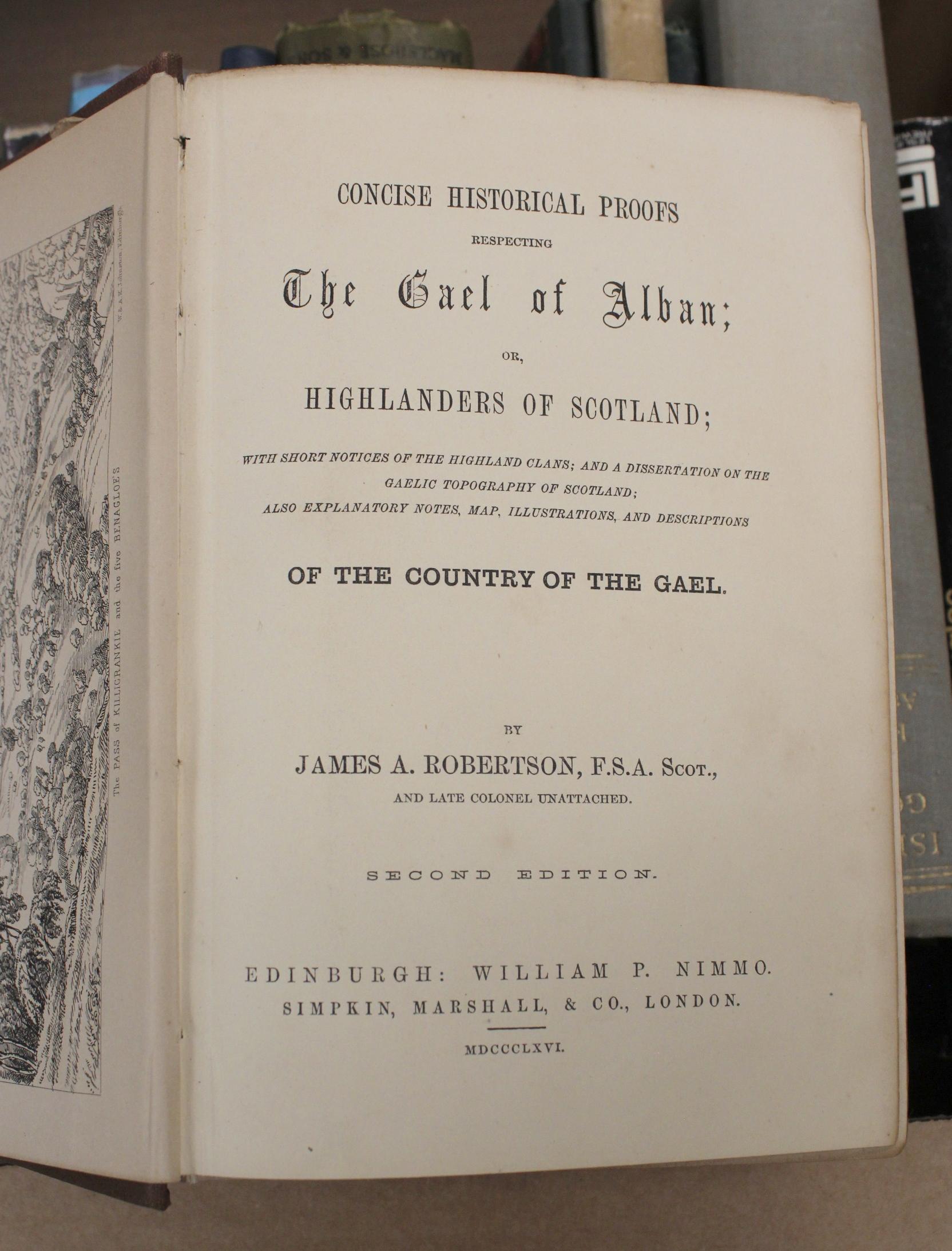 Scotland.A carton of vols. incl. Highlands & Islands. - Image 3 of 5