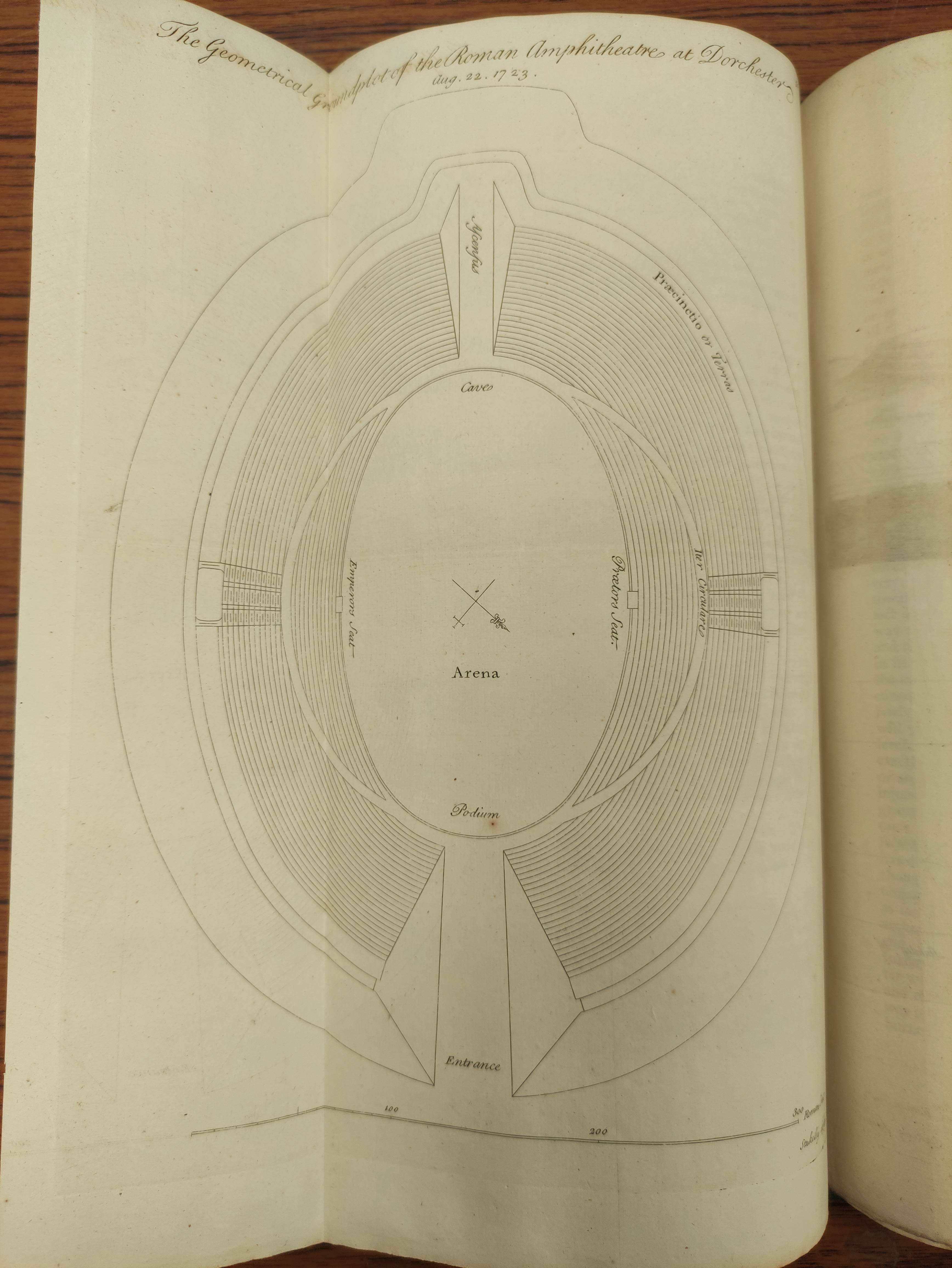 STUKELEY WILLIAM.Itinerarium Curiosum or An Account of the Antiquities & Remarkable Curiousities - Image 8 of 10