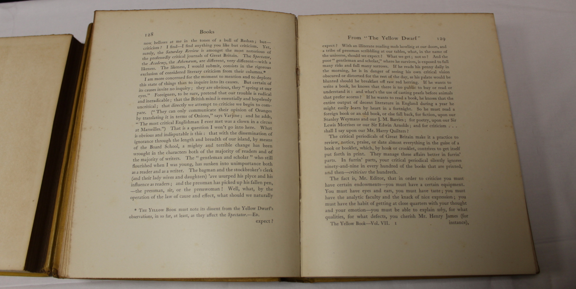 THE YELLOW BOOK.An Illustrated Quarterly. A set of 13 vols., many fine illus. Small quarto. - Image 29 of 45
