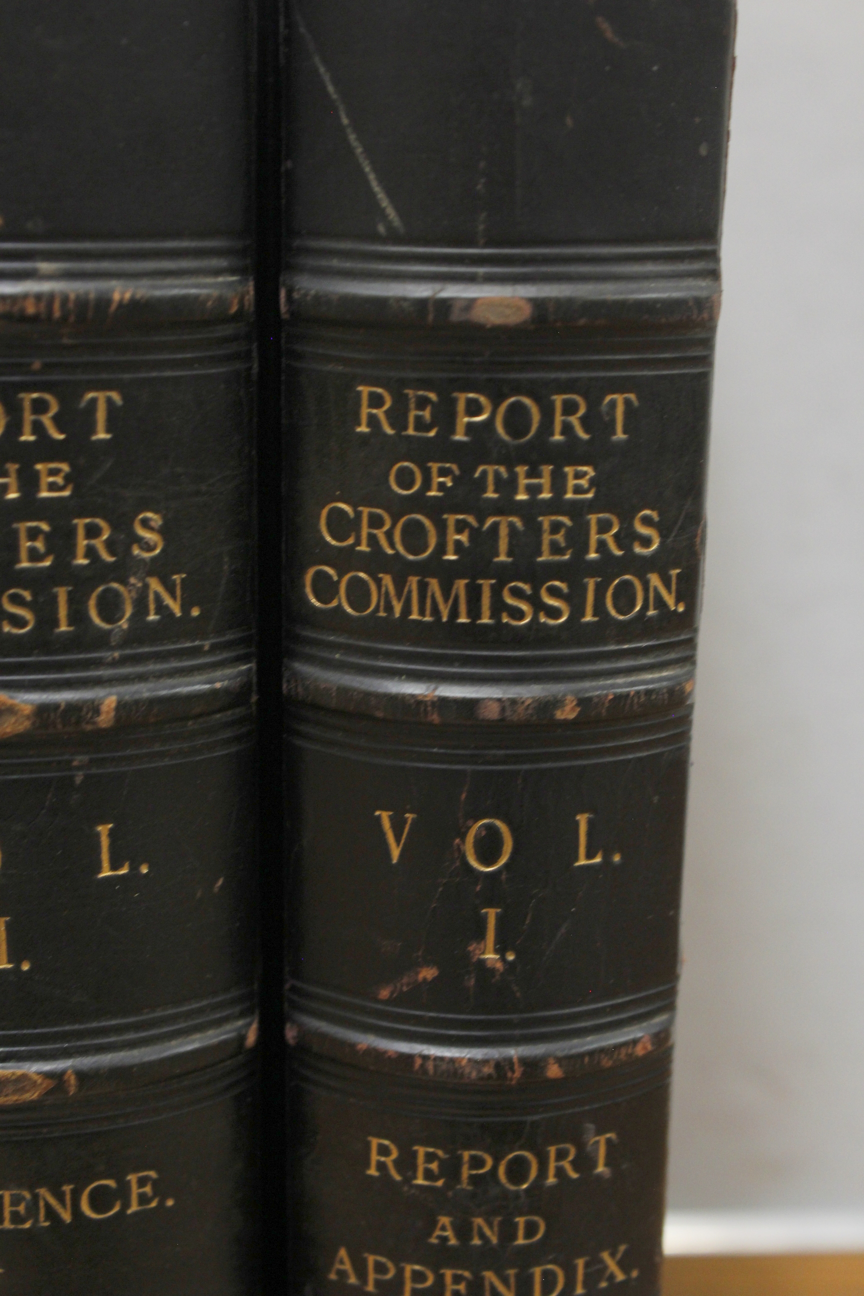 CROFTERS COMMISSION.Report of Her Majesty's Commissioners of Inquiry. 5 vols. incl. Evidential - Image 2 of 9