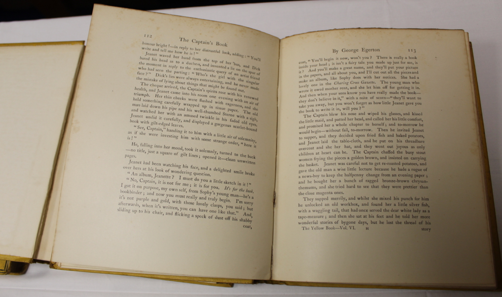 THE YELLOW BOOK.An Illustrated Quarterly. A set of 13 vols., many fine illus. Small quarto. - Image 32 of 45