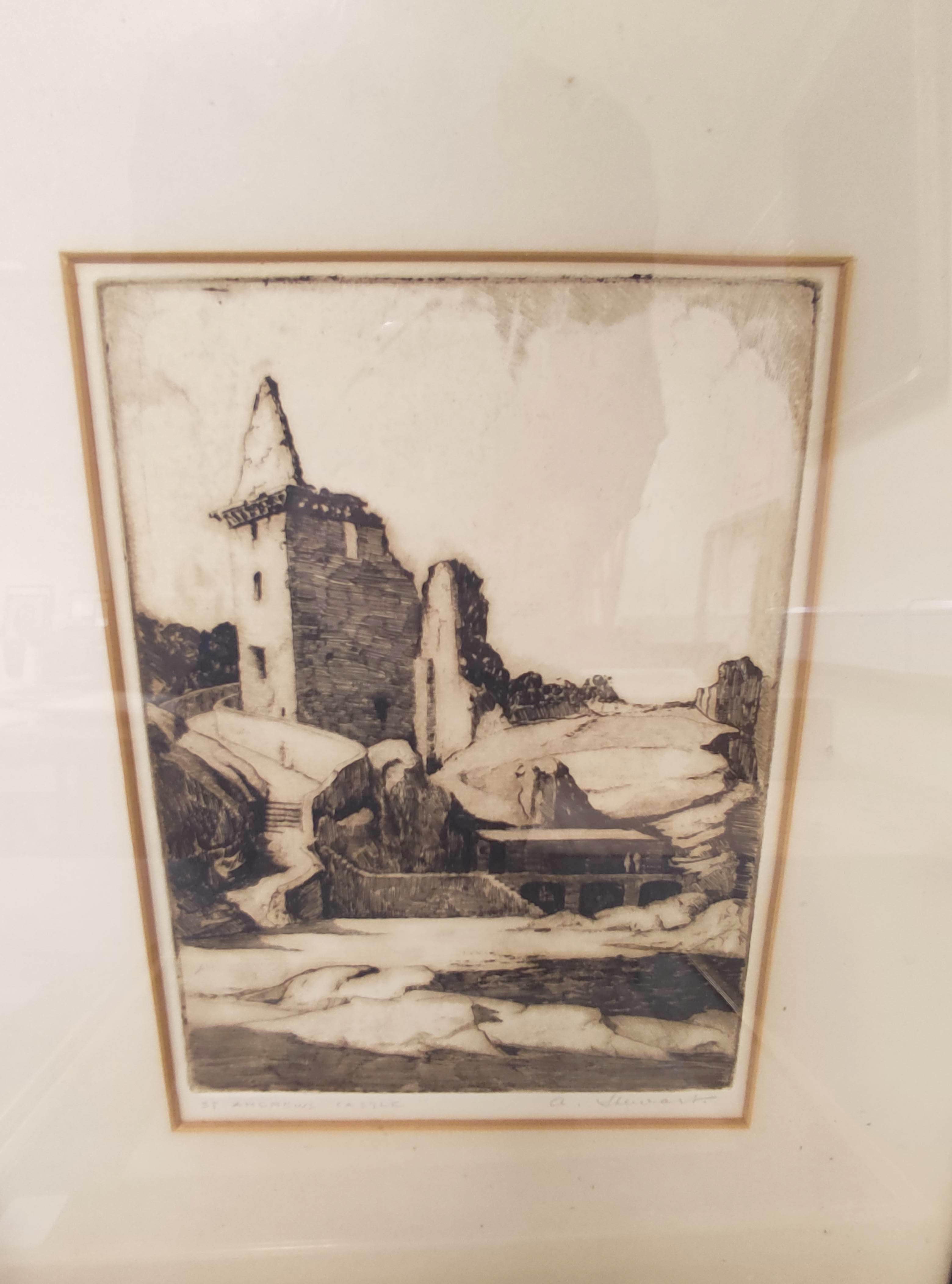 JEAN THOMAS.Bhasteir Tooth, pencil signed etching 2/60; also 5 other engravings & etchings. (6). - Image 2 of 5