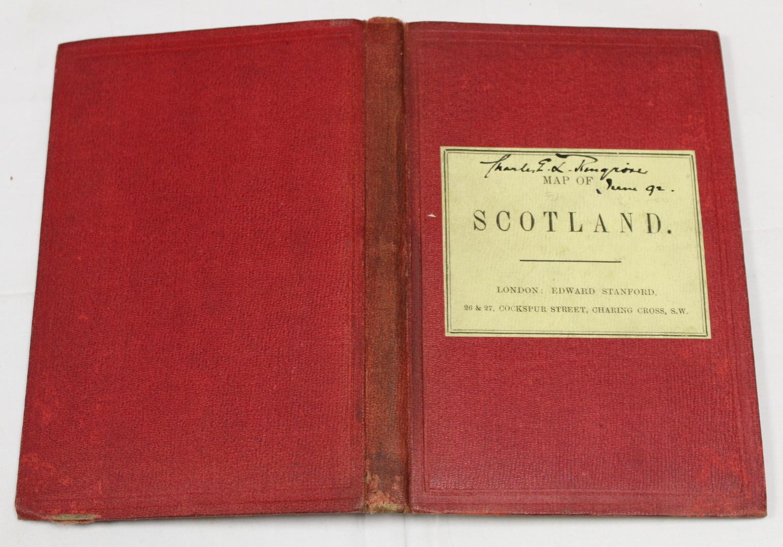 KIRKWOOD J. & SONS.Map of Scotland. Hand col. eng. fldg. linen map in well worn orig. slip case. - Image 21 of 36