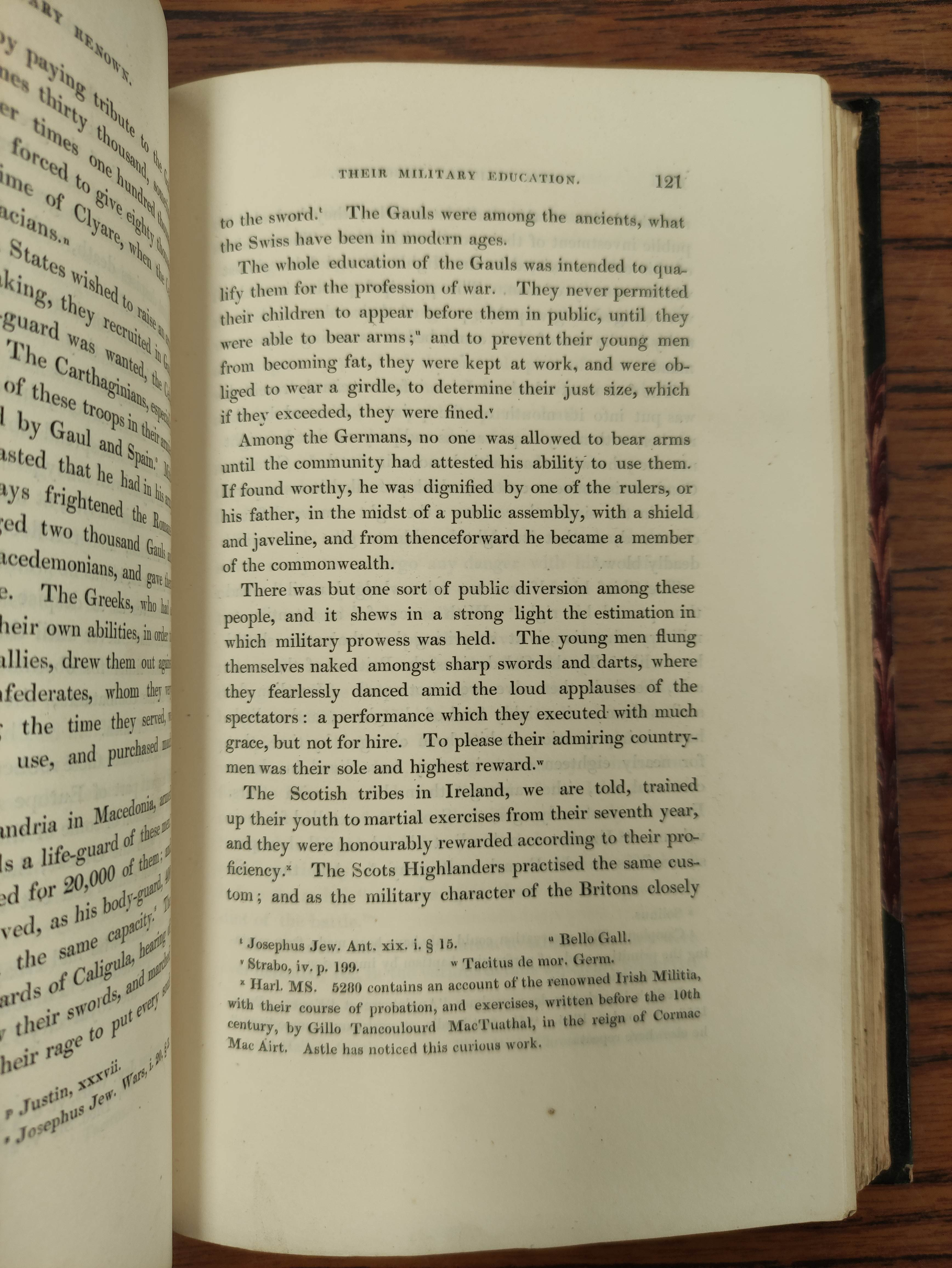 LOGAN JAMES.The Scottish Gael. 2 vols. Col. frontis & text illus. Half green morocco. A nice - Image 7 of 10