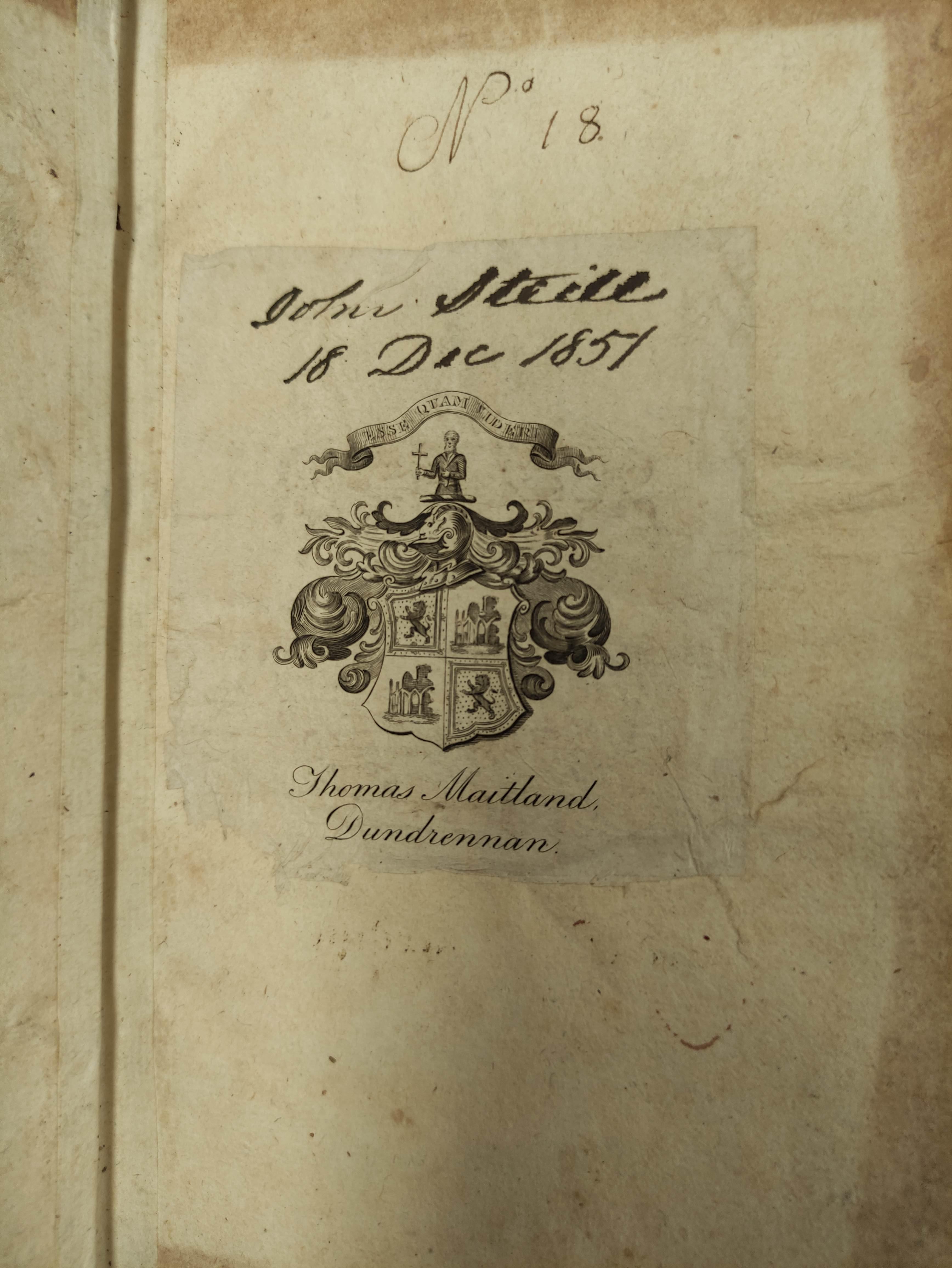 (FERGUSON ROBERT).A Just & Modest Vindication of the Scots Design for the having Established a - Image 3 of 7