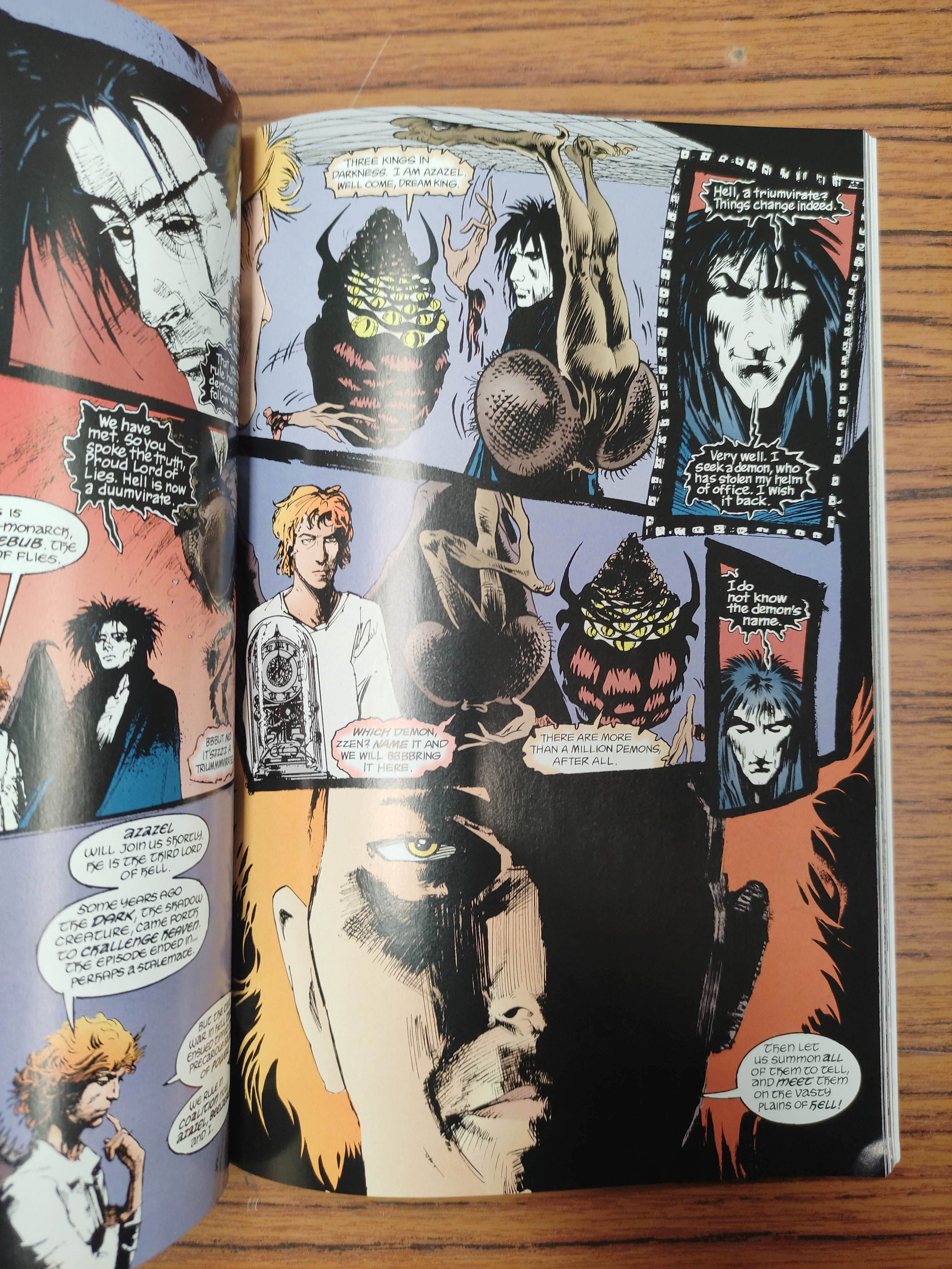 GAIMAN NEIL.The Sandman. Vols. 1 to 10 in wrappers & slip case; also 5 others, Neil Gaiman. - Image 9 of 17