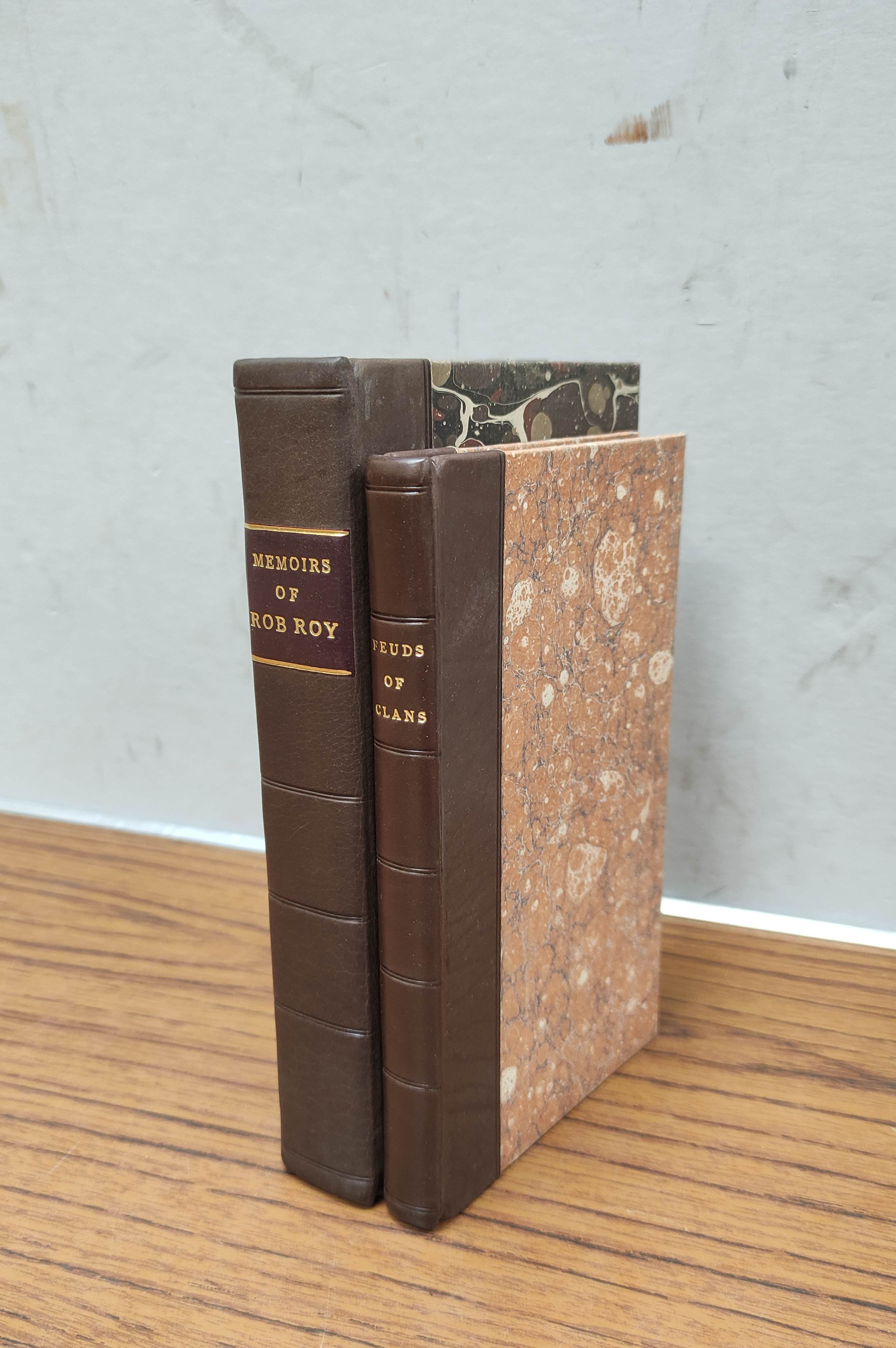 (GILLIES JOHN).History of the Feuds and Conflicts Among the Clans. 12mo. Rebound qtr. calf,