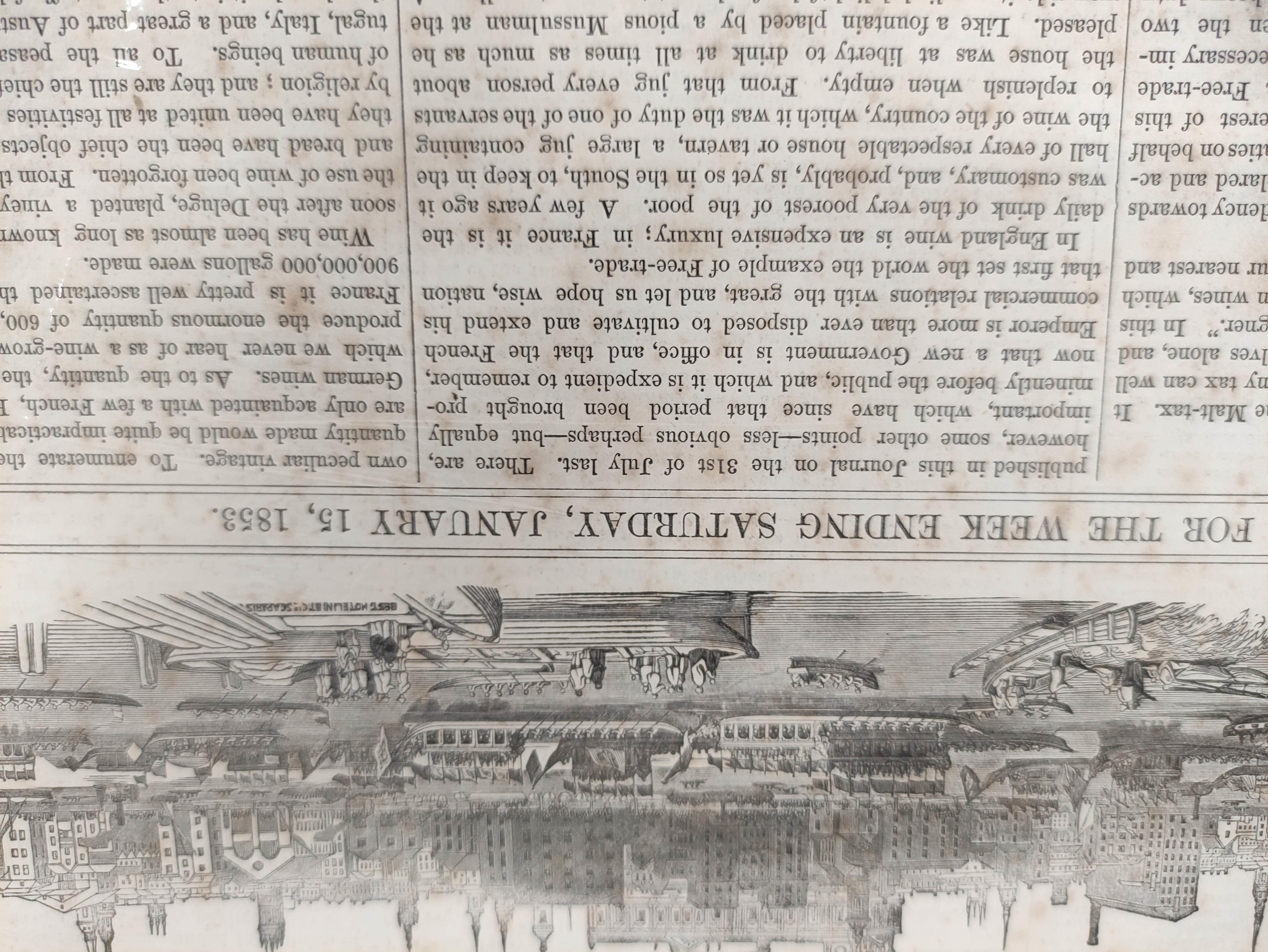 Illustrated London News, The Graphic & other periodicals. A collection of extracts & loose illus. - Image 3 of 9