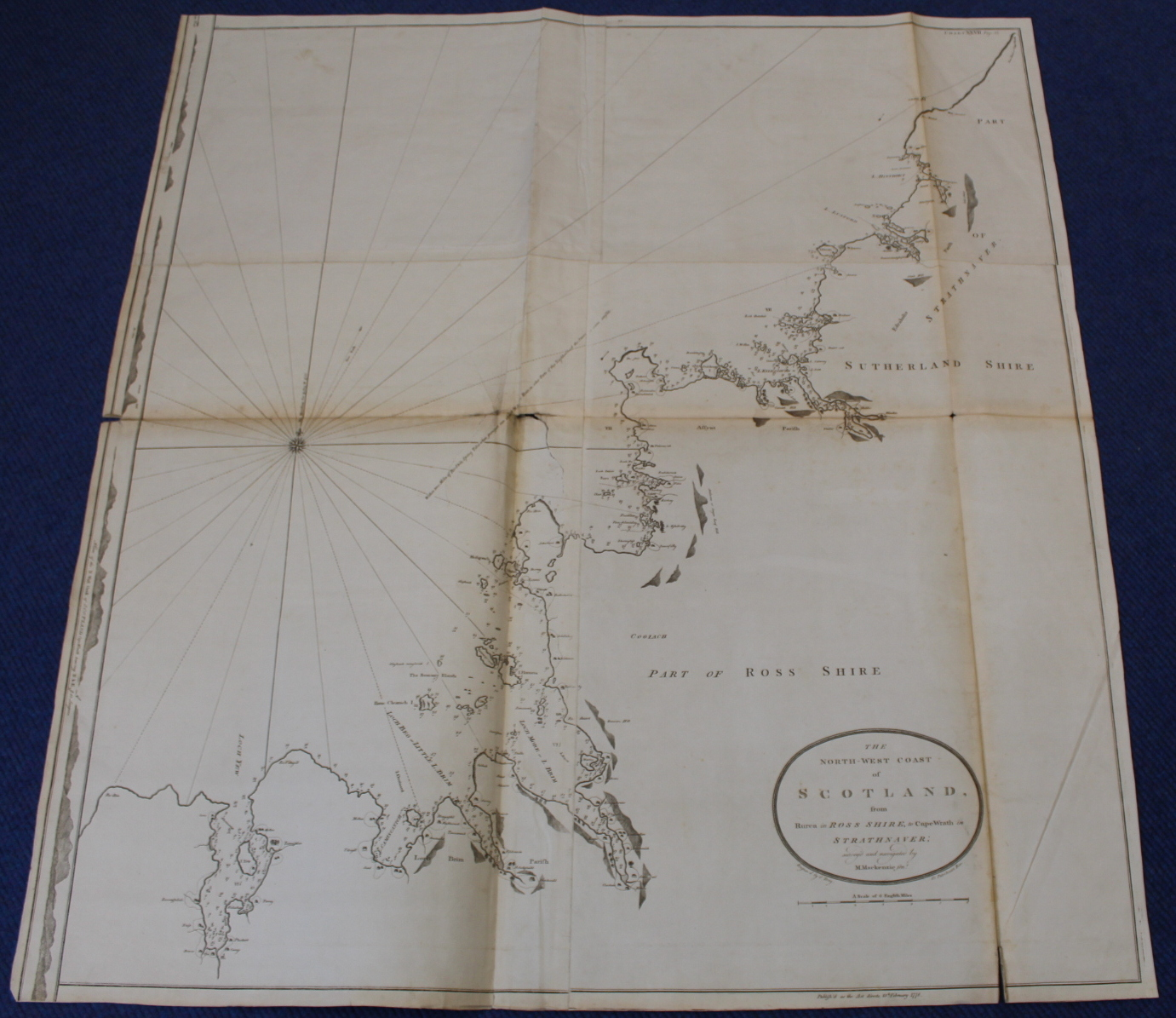 MACKENZIE MURDOCH (SNR.).A General Chart of the West Coast & Western Islands of Scotland from - Image 34 of 66