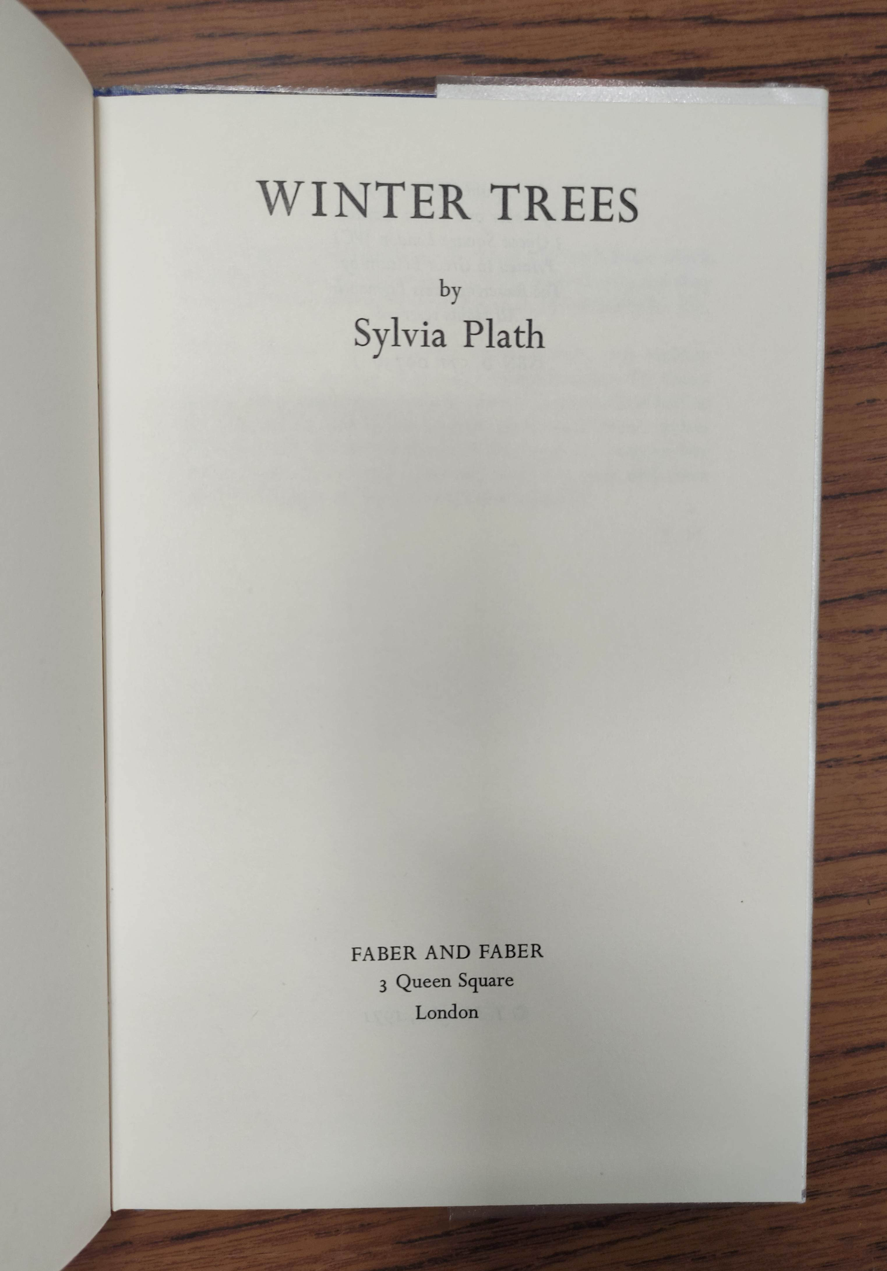 PLATH SYLVIA.Ariel. Orig. red cloth in d.w. 3rd imp., 1966; also Plath, The Colossus, d.w., 1967 & - Image 10 of 12