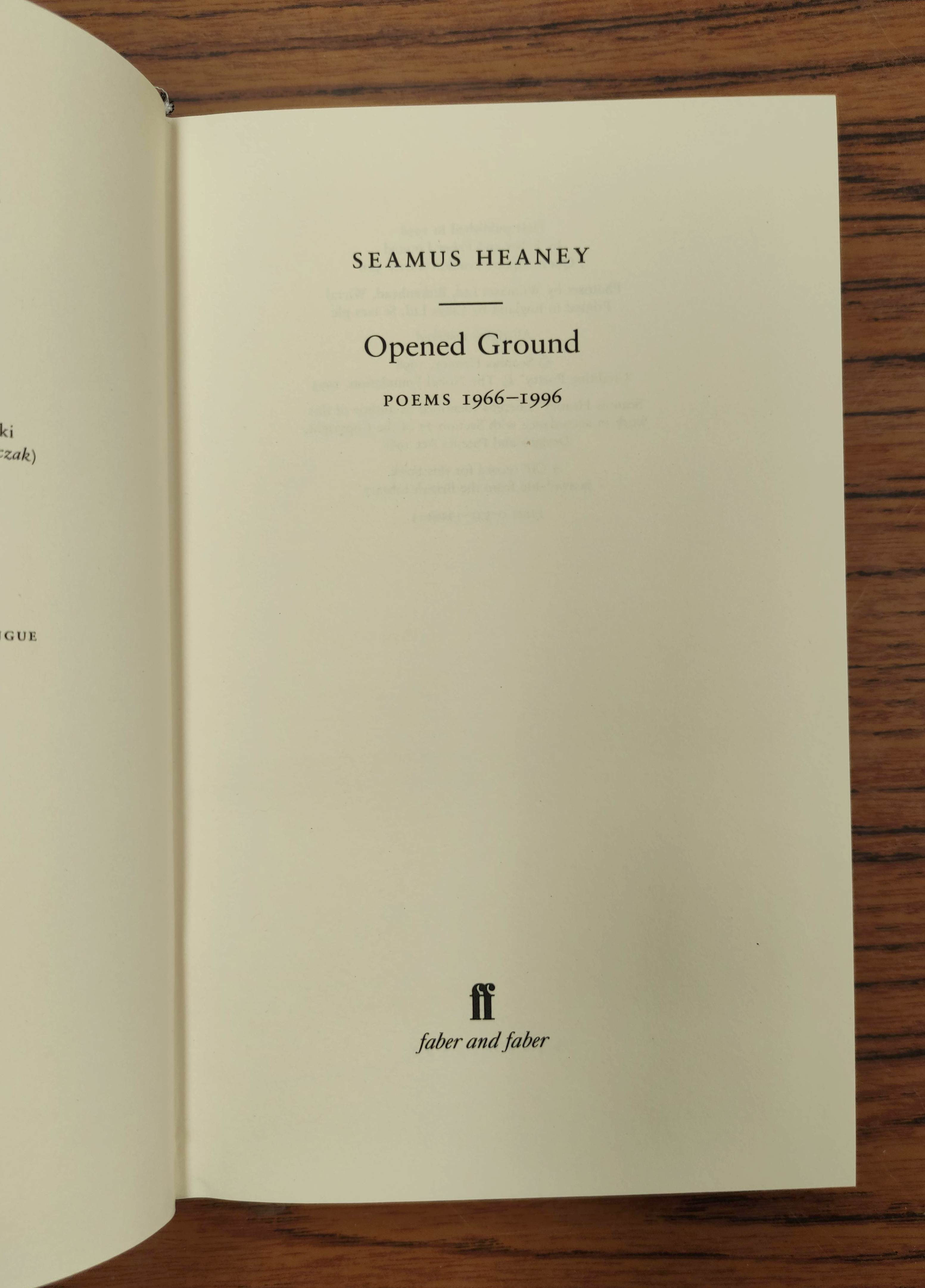 HEANEY SEAMUS. The School Bag. Ltd. ed. 61/300 signed by Heaney & Ted Hughes. Orig. blue & yellow - Image 3 of 36