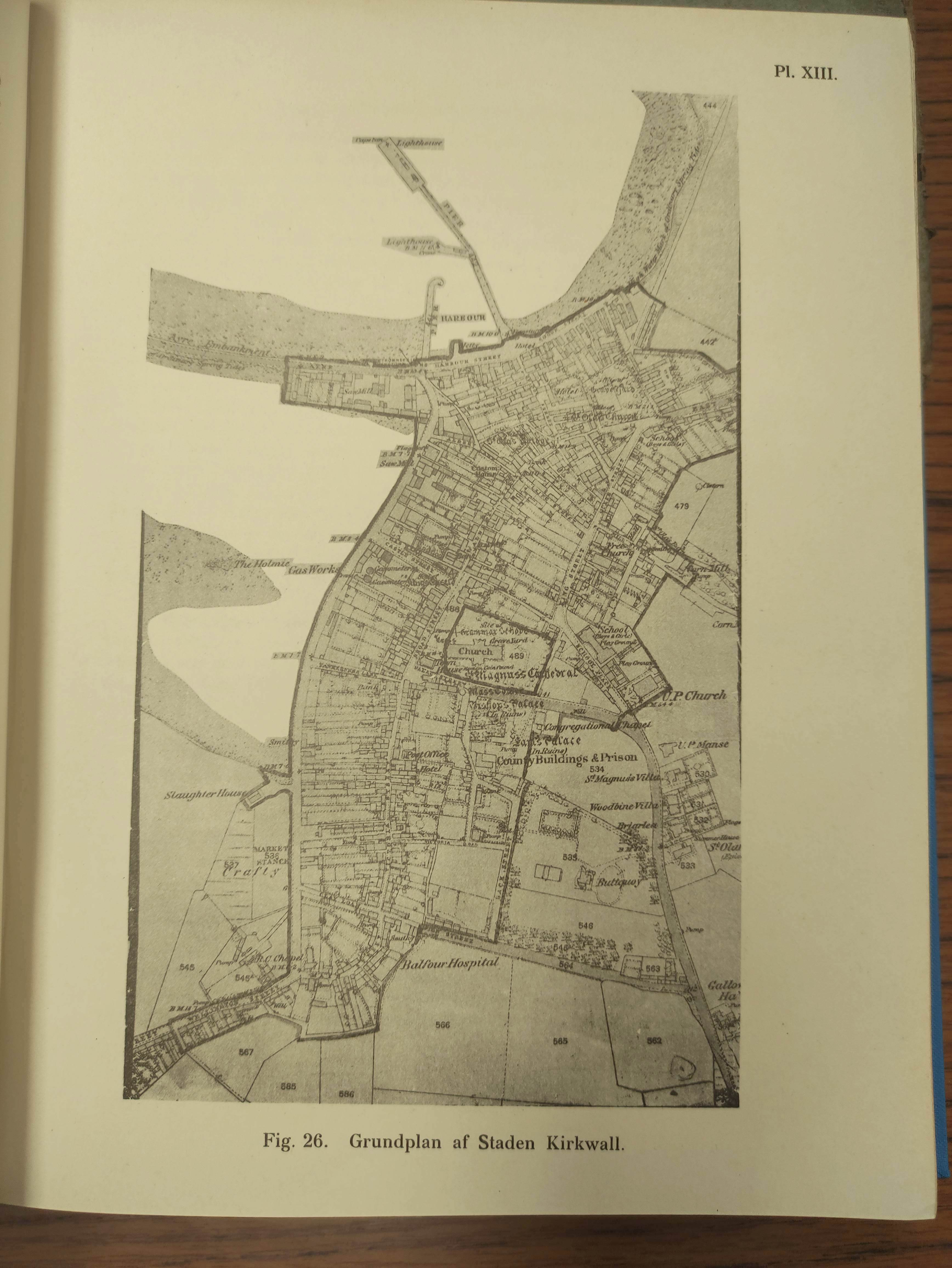 BARRY GEORGE. The History of the Orkney Islands. Fldg. eng. map & eng. plates. Quarto. Rebacked - Image 12 of 13
