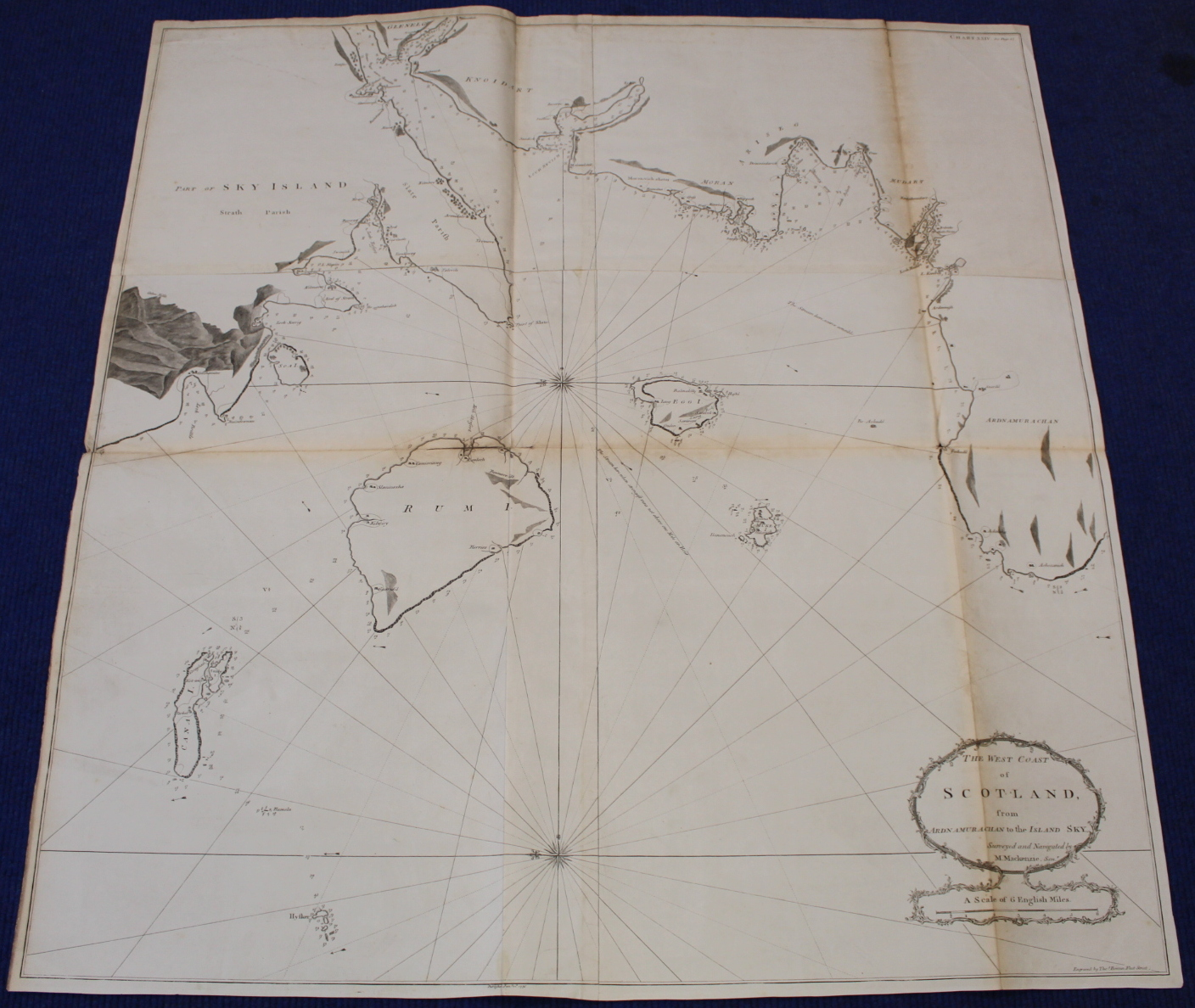 MACKENZIE MURDOCH (SNR.).A General Chart of the West Coast & Western Islands of Scotland from - Image 11 of 66