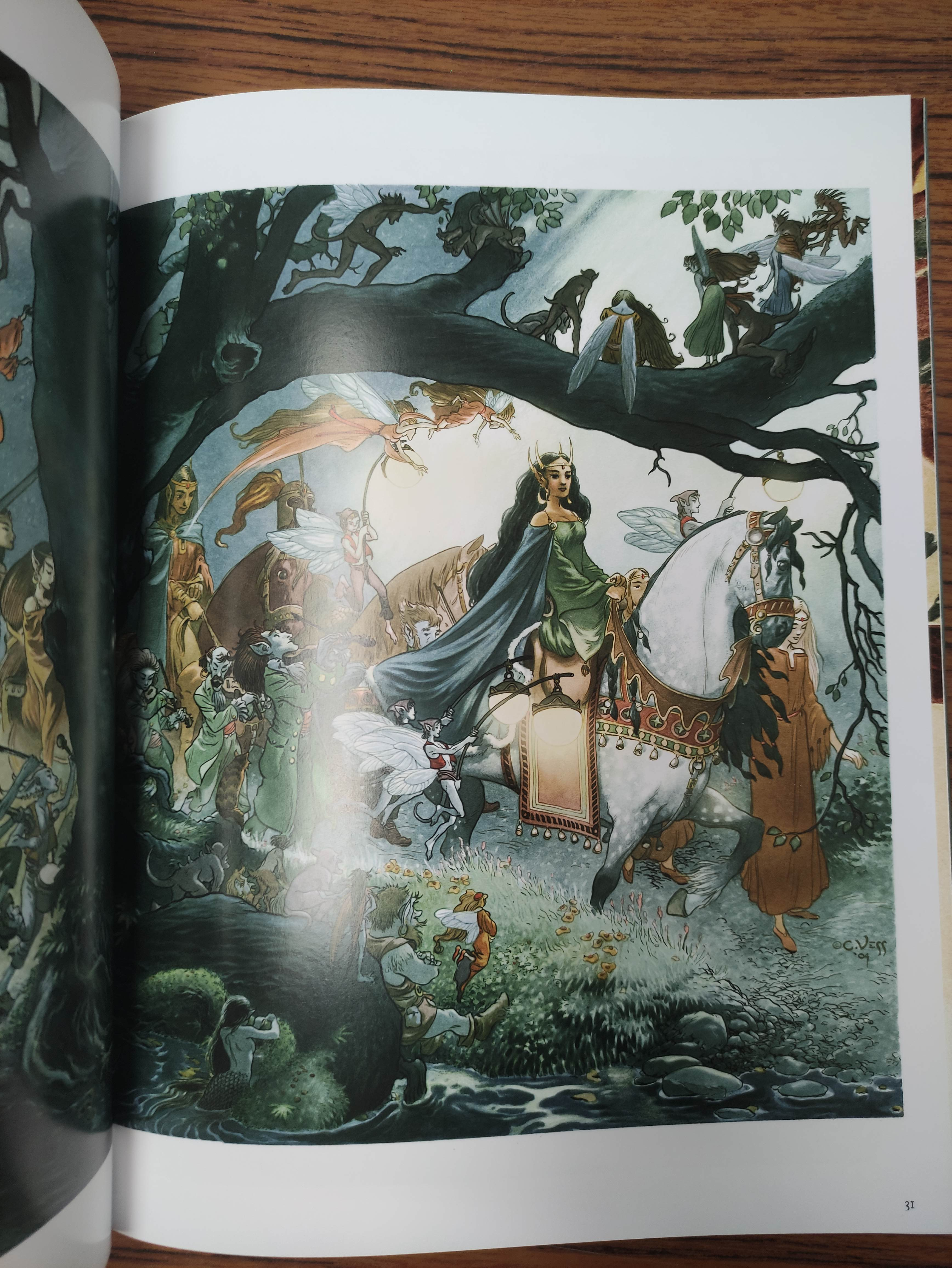 VESS CHARLES.Coloring Book. 5 copies, unused. Each signed by Vess; also 2 other vols. (6). - Image 13 of 14