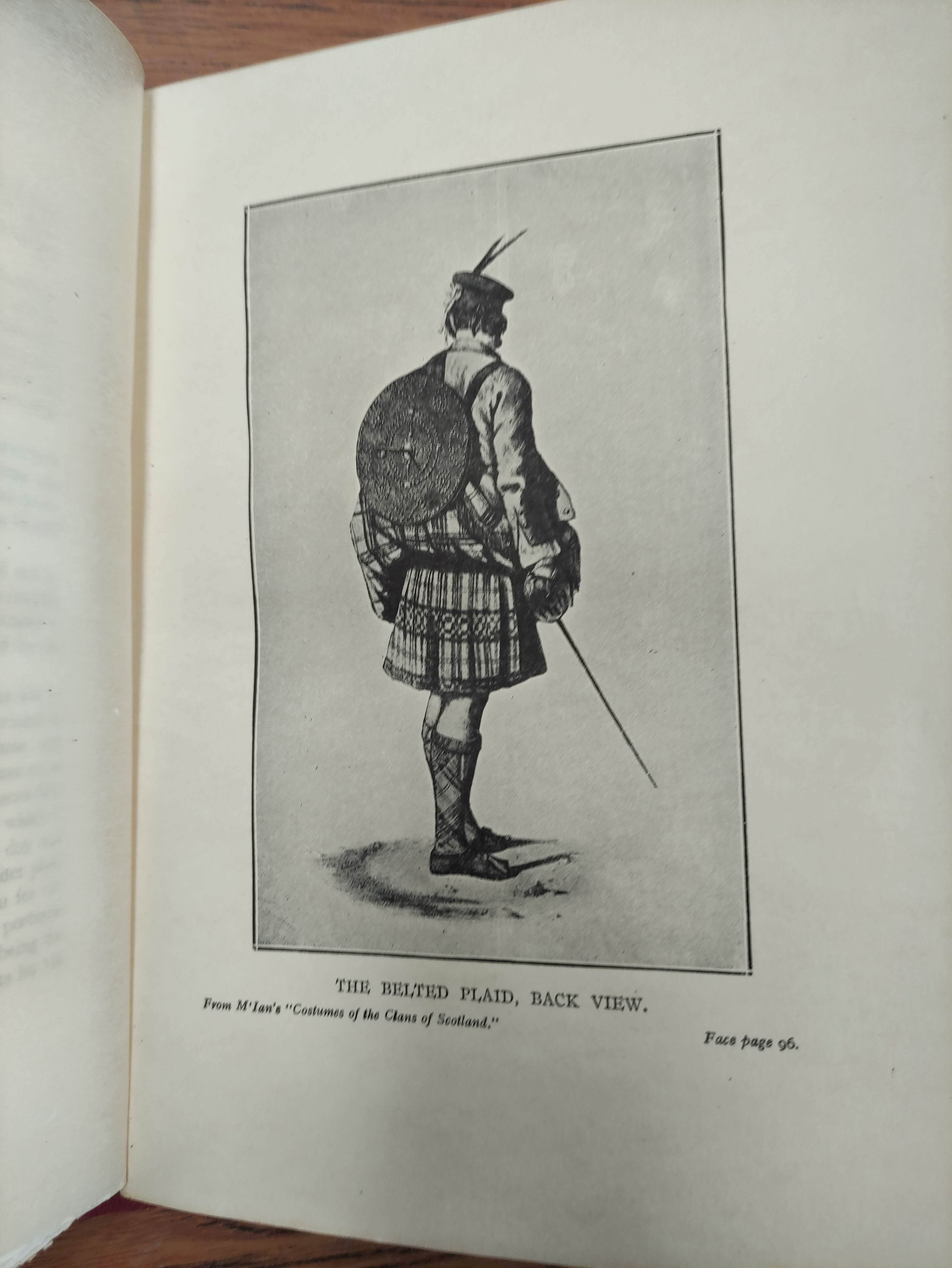 GRAHAM H. D.Antiquities of Iona. Litho frontis, map & plates. Quarto. Rebound qtr. green calf, - Image 5 of 13