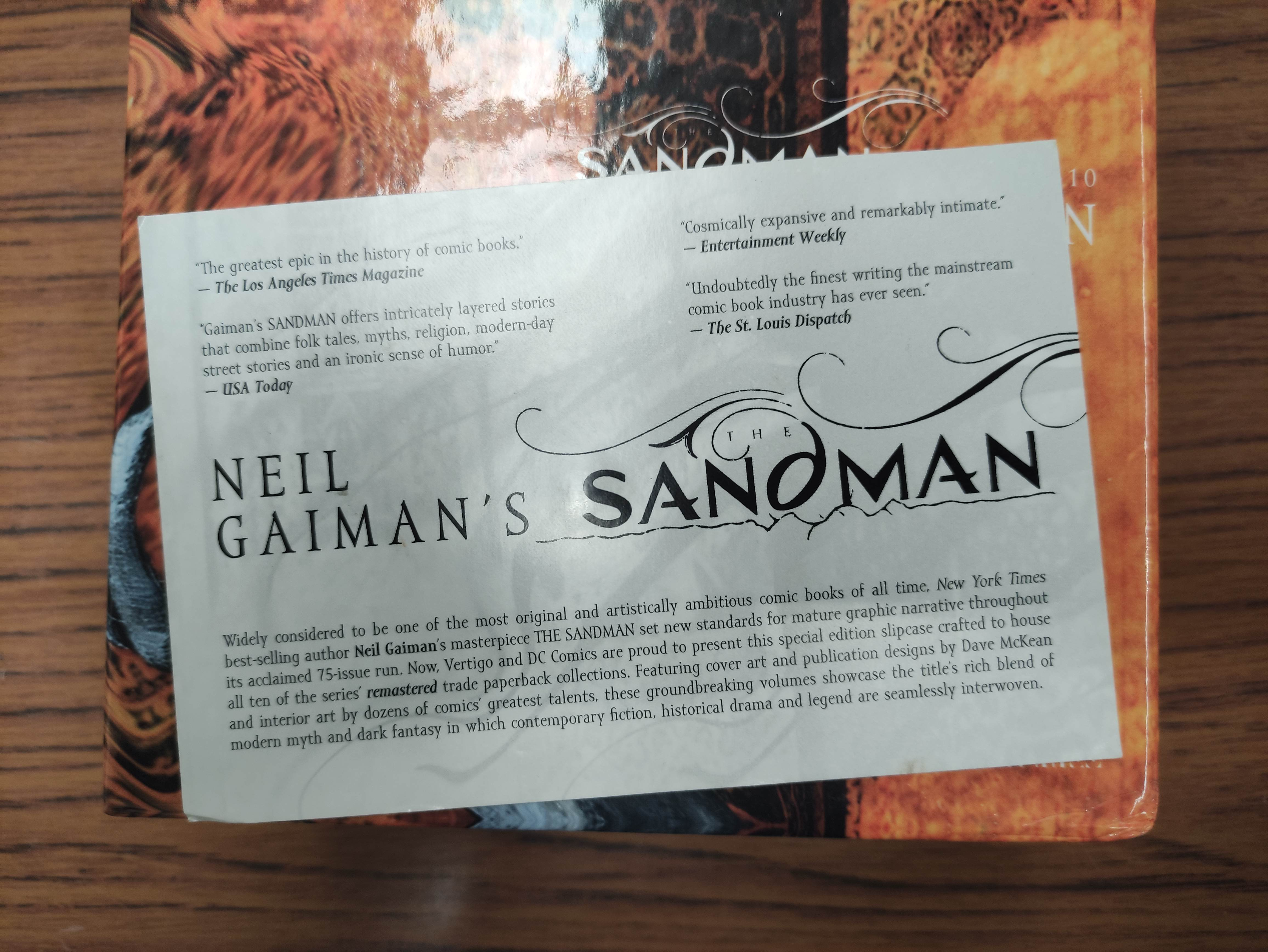GAIMAN NEIL.The Sandman. Vols. 1 to 10 in wrappers & slip case; also 5 others, Neil Gaiman. - Image 4 of 17