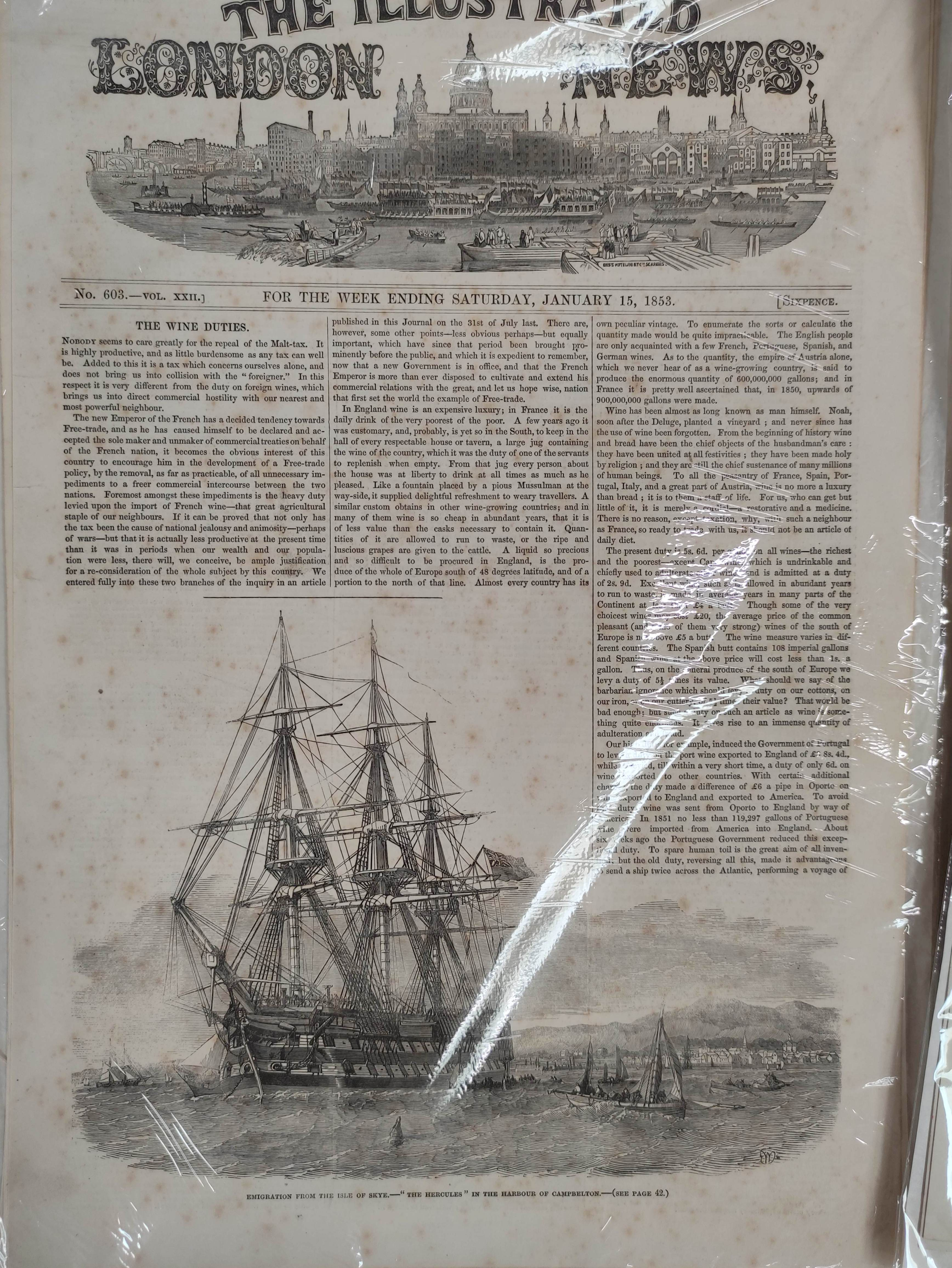 Illustrated London News, The Graphic & other periodicals. A collection of extracts & loose illus. - Image 2 of 9