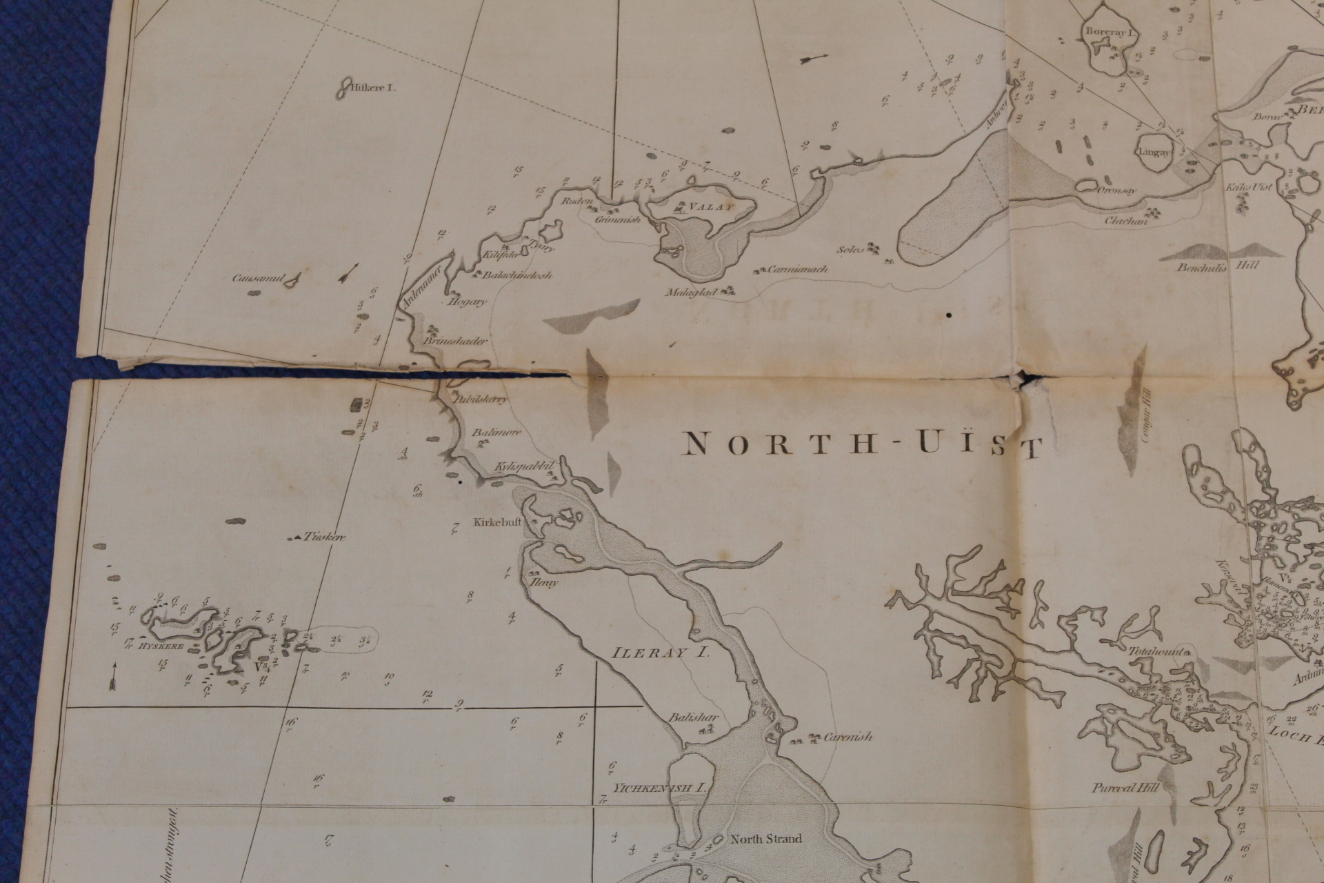 MACKENZIE MURDOCH (SNR.).A General Chart of the West Coast & Western Islands of Scotland from - Image 26 of 66
