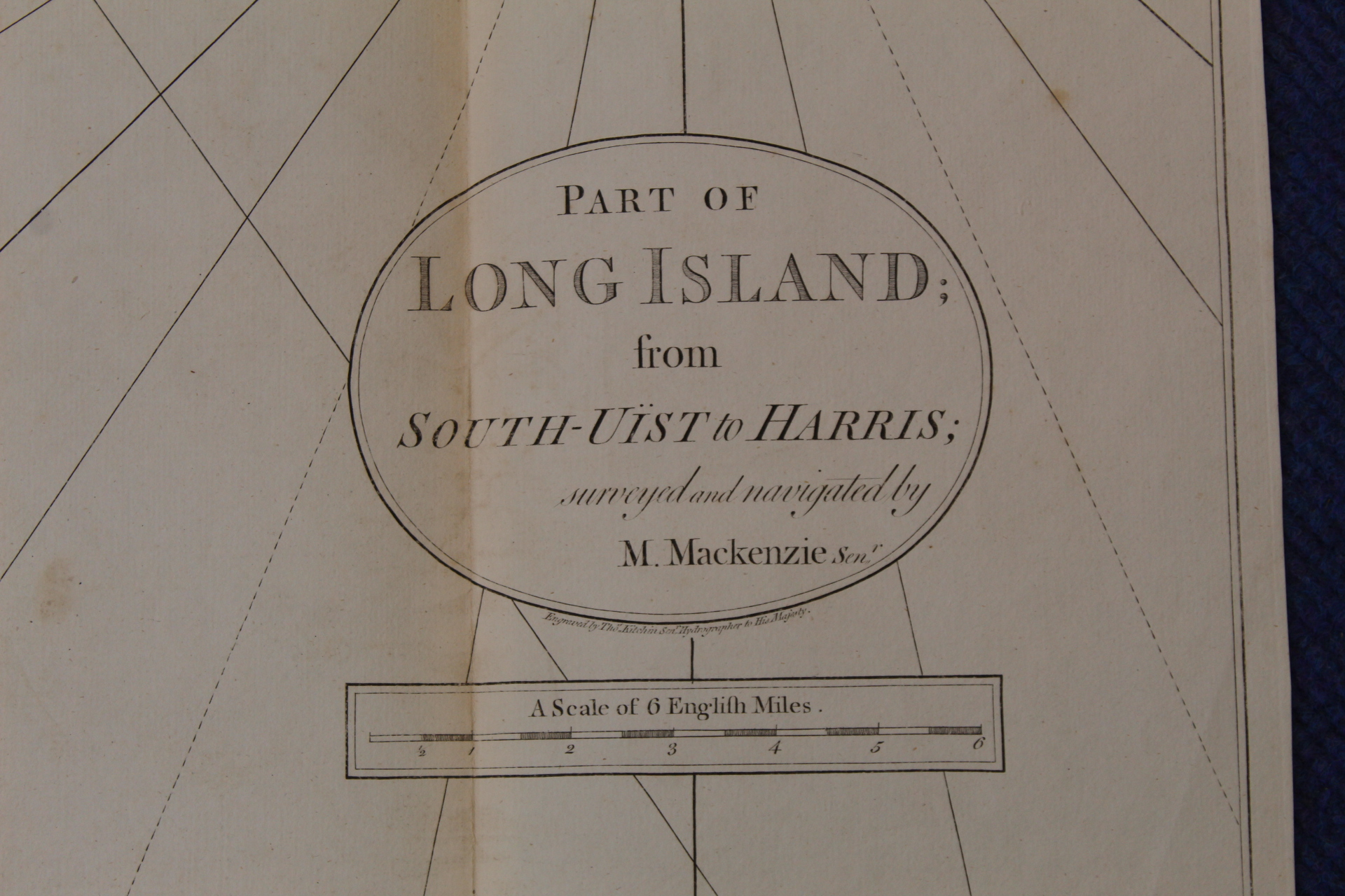 MACKENZIE MURDOCH (SNR.).A General Chart of the West Coast & Western Islands of Scotland from - Image 24 of 66