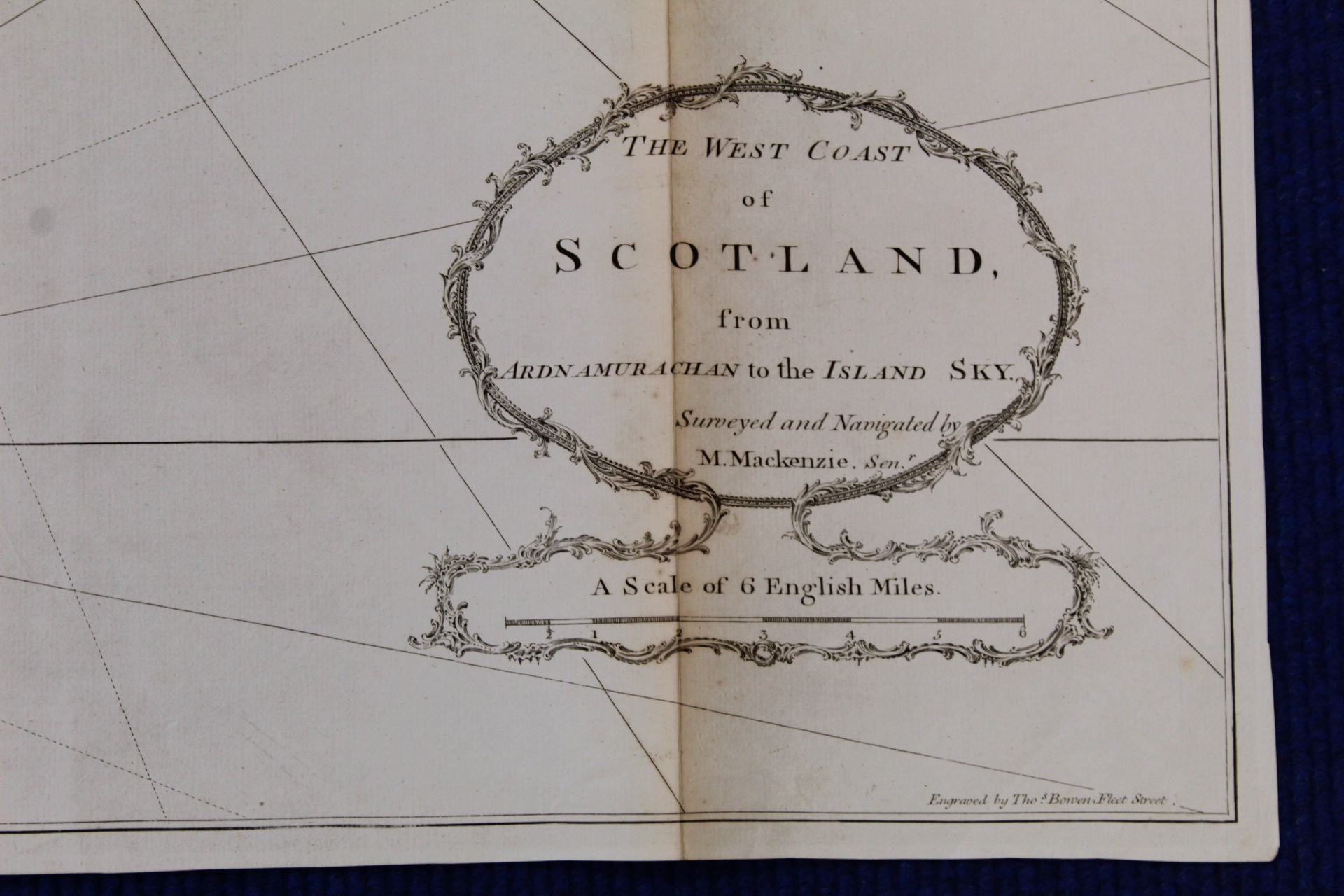 MACKENZIE MURDOCH (SNR.).A General Chart of the West Coast & Western Islands of Scotland from - Image 10 of 66