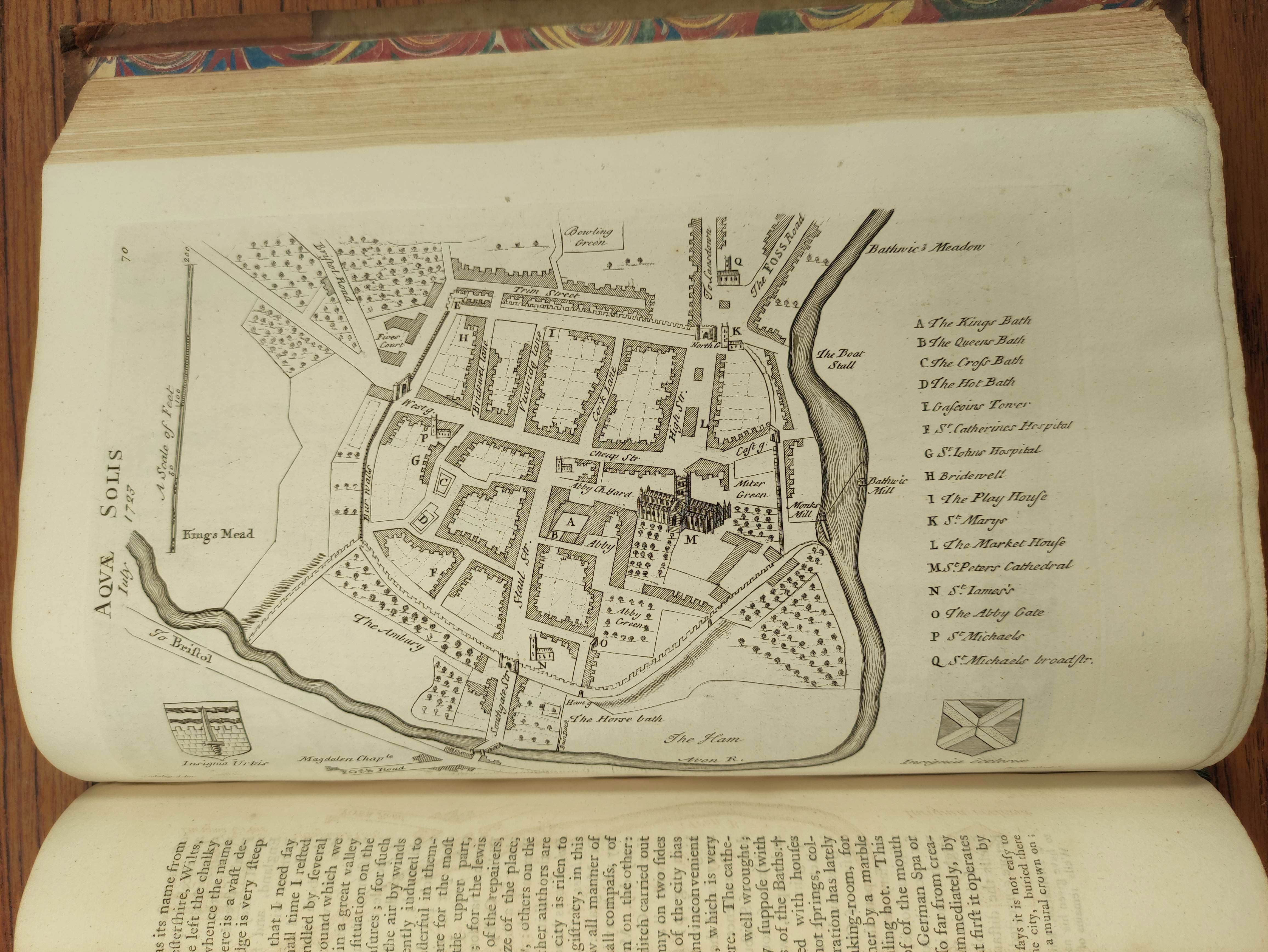 STUKELEY WILLIAM.Itinerarium Curiosum or An Account of the Antiquities & Remarkable Curiousities - Image 10 of 10