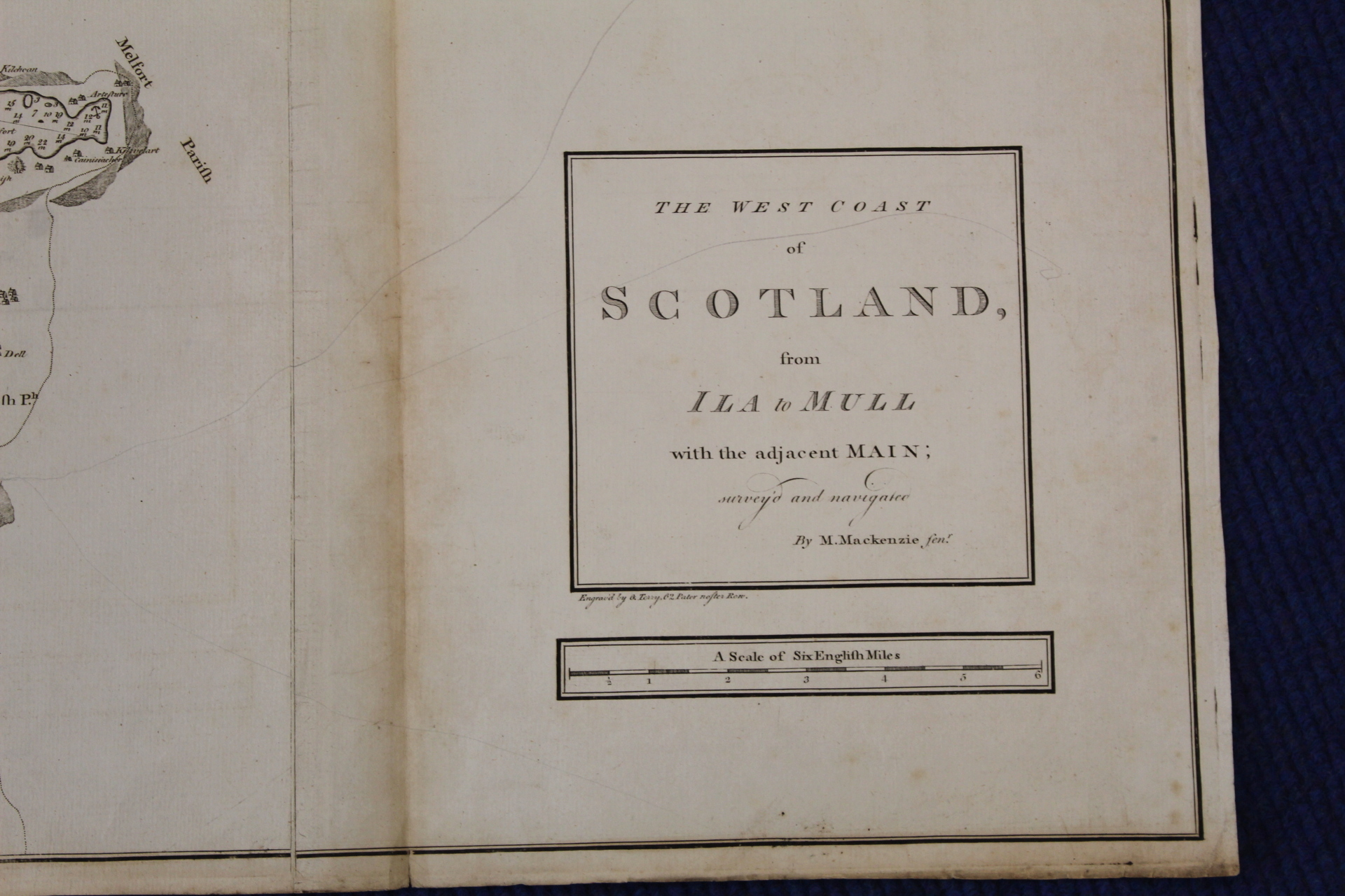 MACKENZIE MURDOCH (SNR.).A General Chart of the West Coast & Western Islands of Scotland from - Image 57 of 66