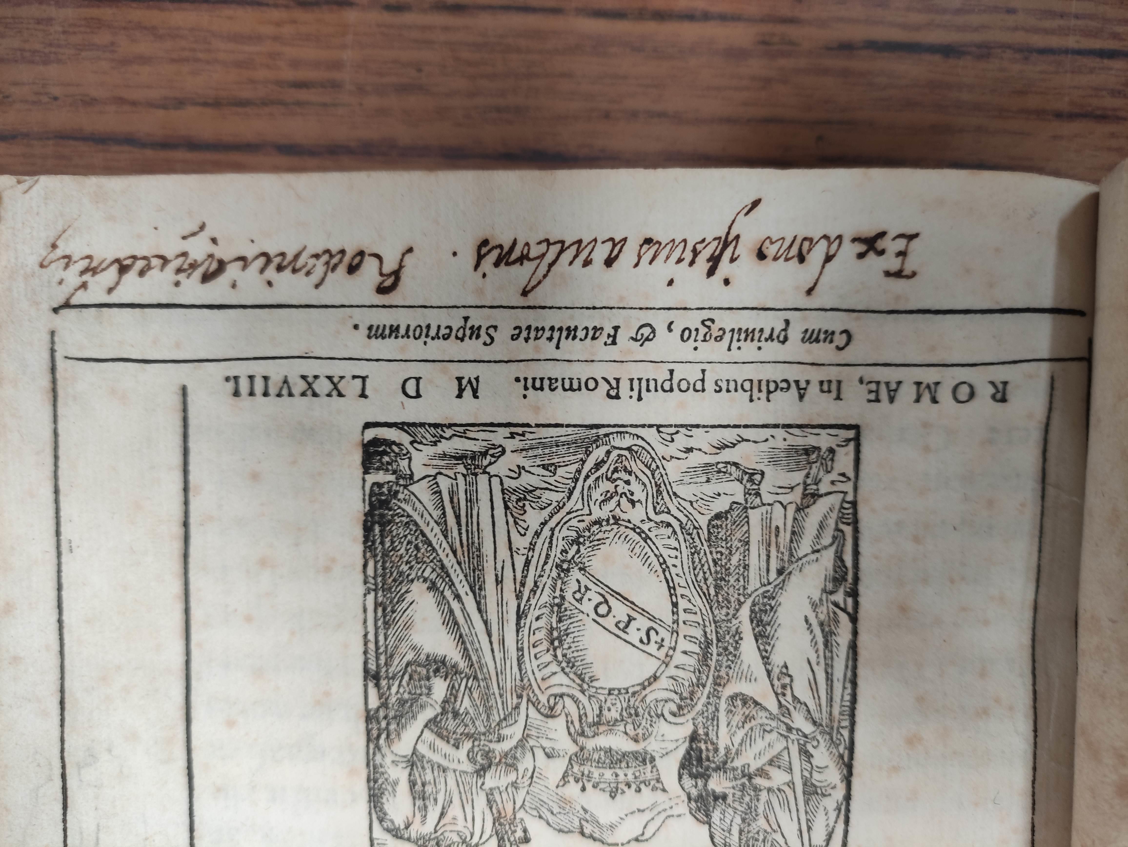 LESLIE JOHN,Bishop of Ross. De Origine Moribus & Rebus Gestis Scotorum. Part 1 only, concluding - Image 3 of 8