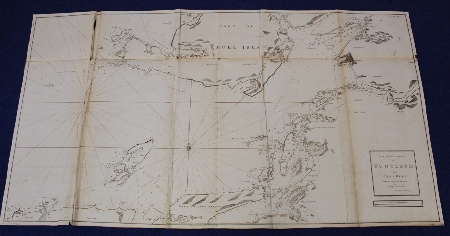 MACKENZIE MURDOCH (SNR.).A General Chart of the West Coast & Western Islands of Scotland from - Image 58 of 66