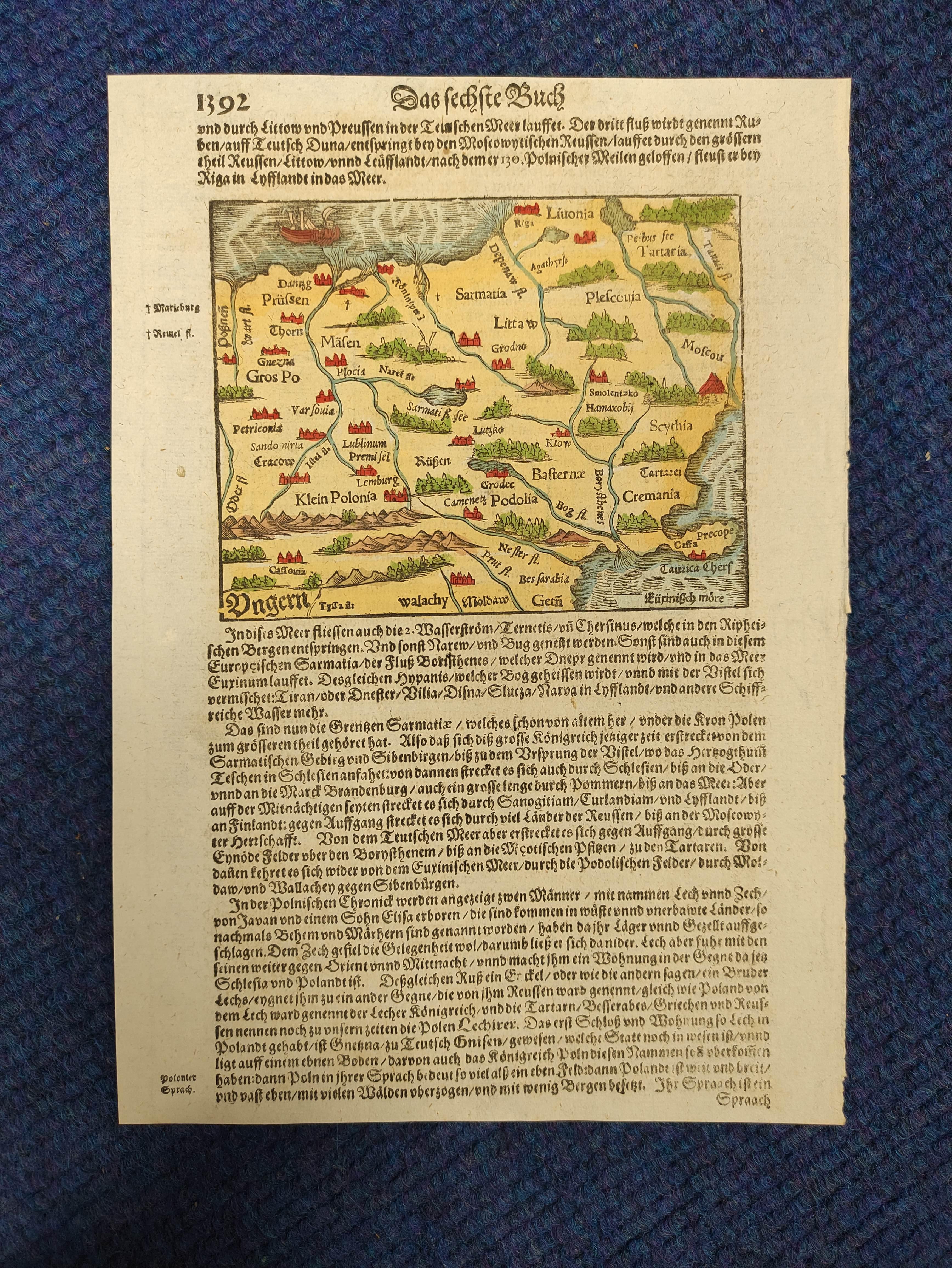 (DAHLBERG E. J.)Ichnographia Castri Schwetz & Ichnographia Castelli Pillau. 2 17th cent. - Image 9 of 12