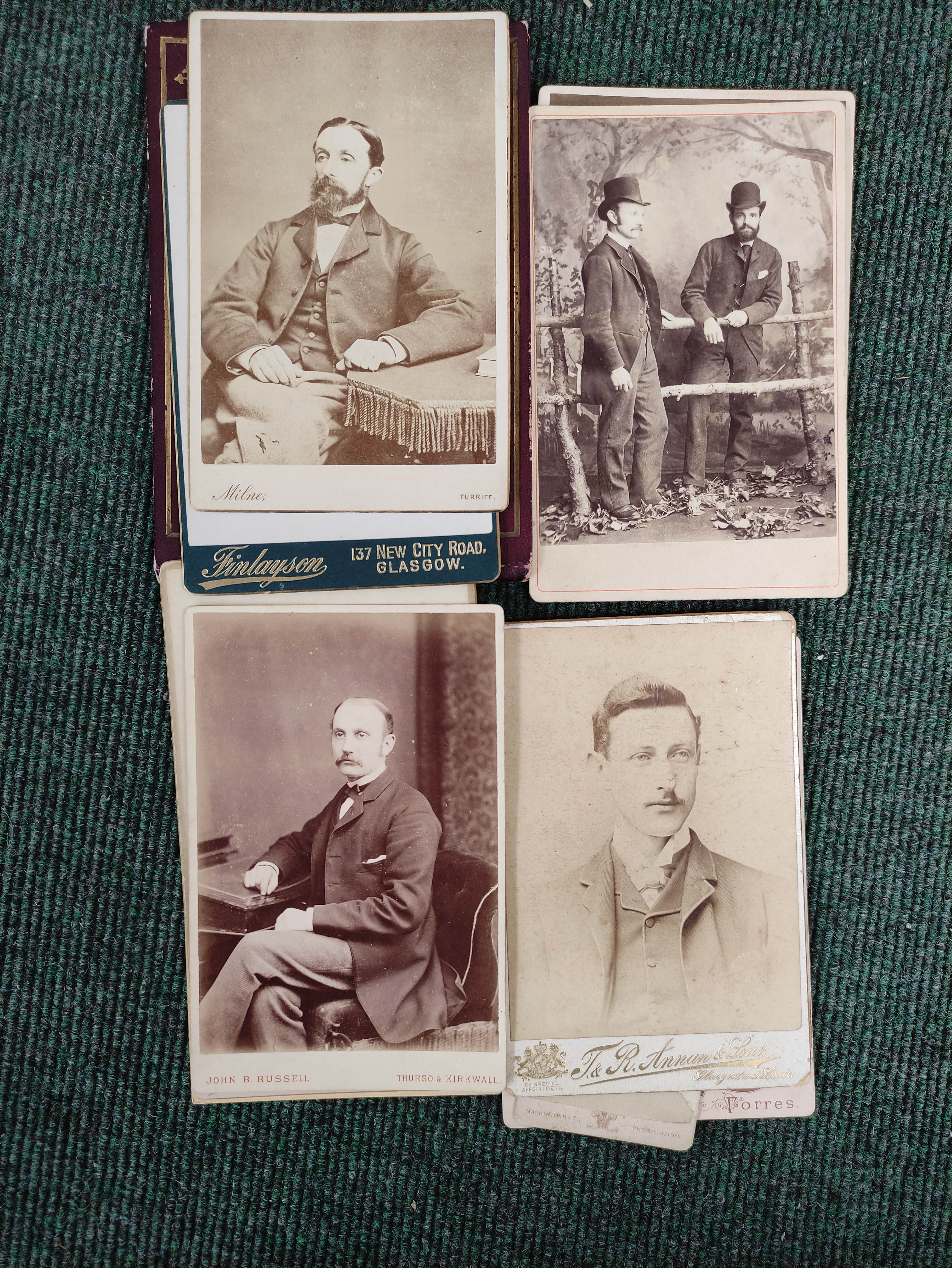 Highlands & Islands & others.A carton of prints & ephemera; also a quarto album of sepia & other - Image 2 of 7