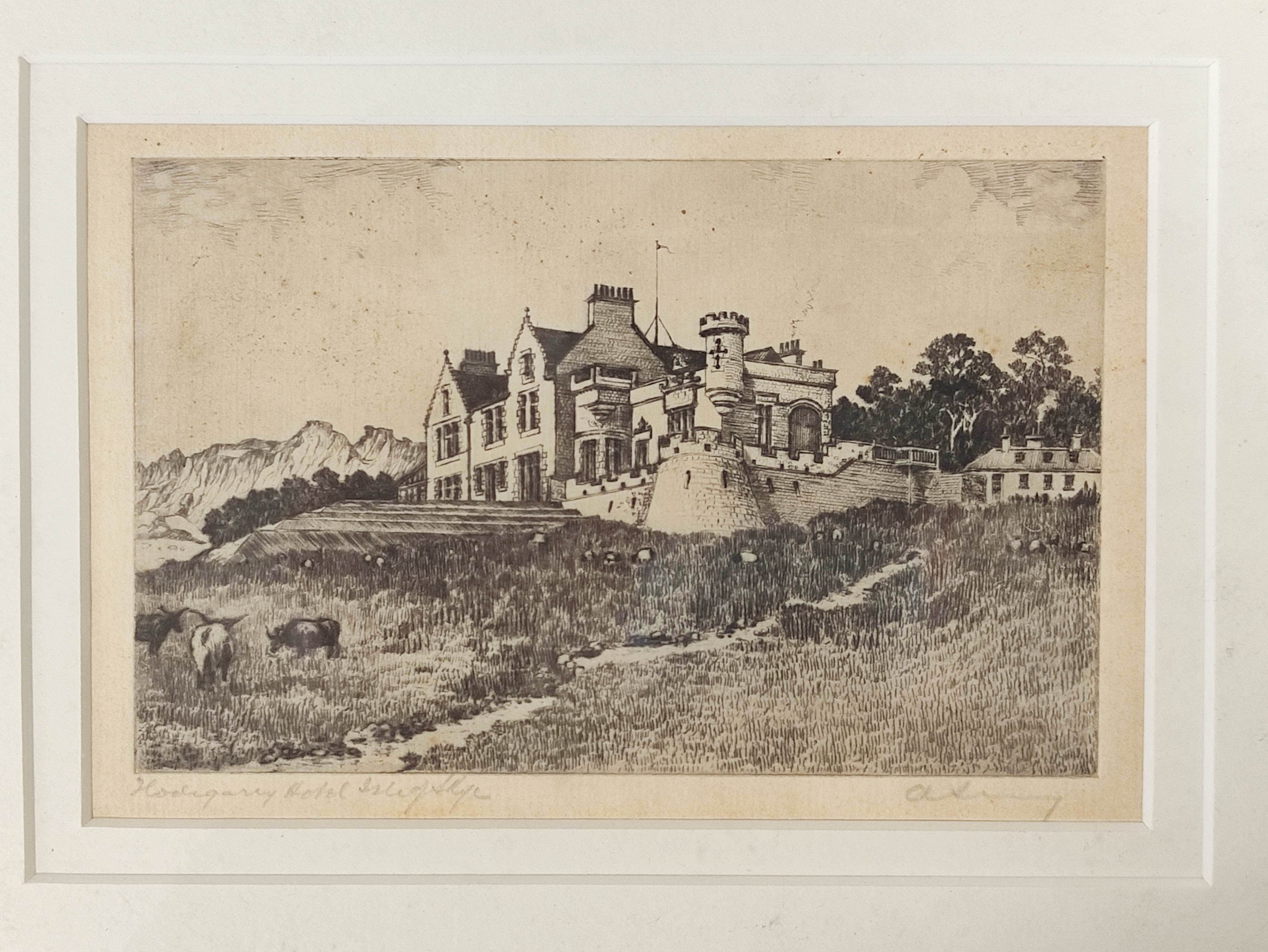 JEAN THOMAS.Bhasteir Tooth, pencil signed etching 2/60; also 5 other engravings & etchings. (6). - Image 5 of 5