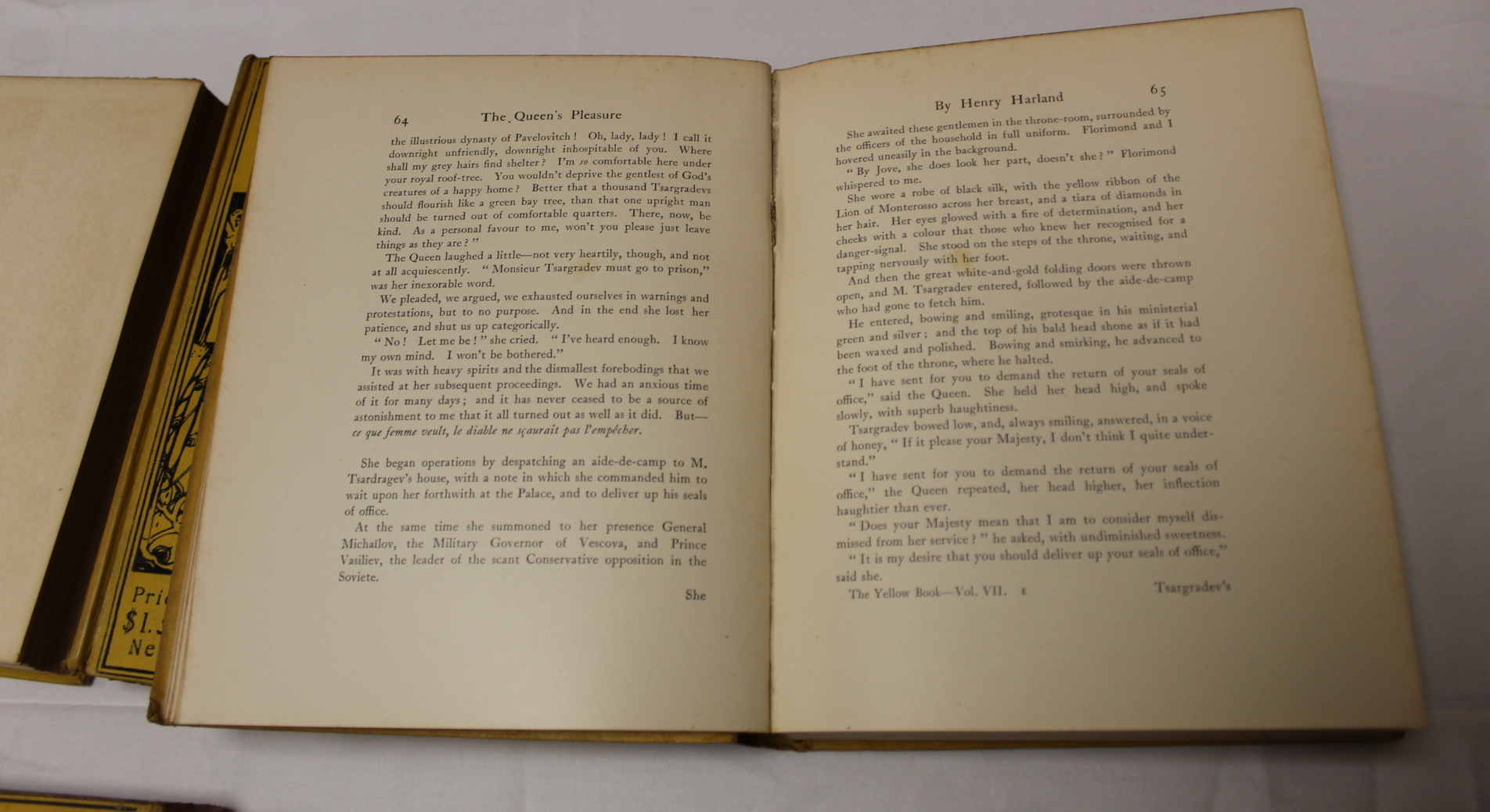 THE YELLOW BOOK.An Illustrated Quarterly. A set of 13 vols., many fine illus. Small quarto. - Image 31 of 45