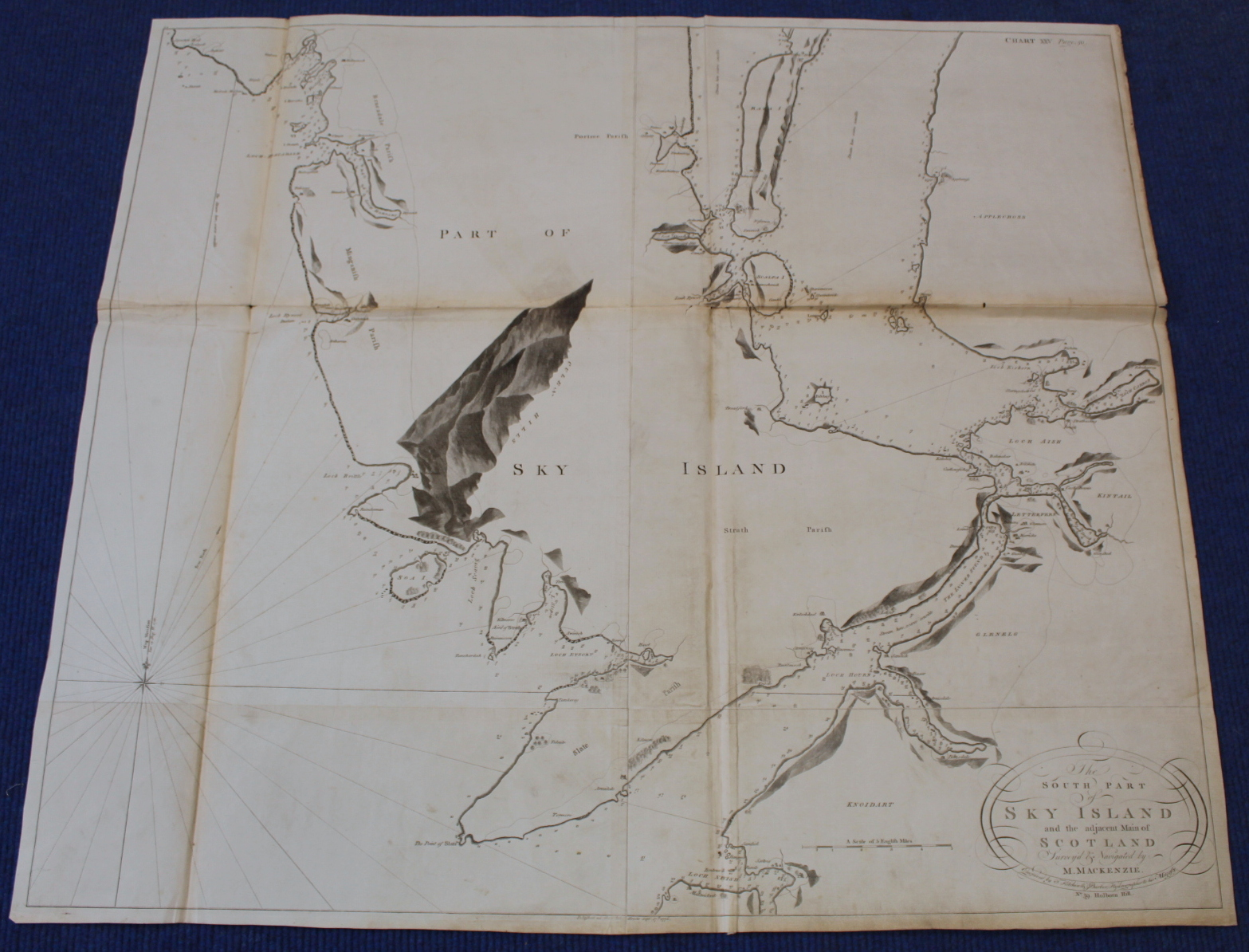MACKENZIE MURDOCH (SNR.).A General Chart of the West Coast & Western Islands of Scotland from - Image 14 of 66