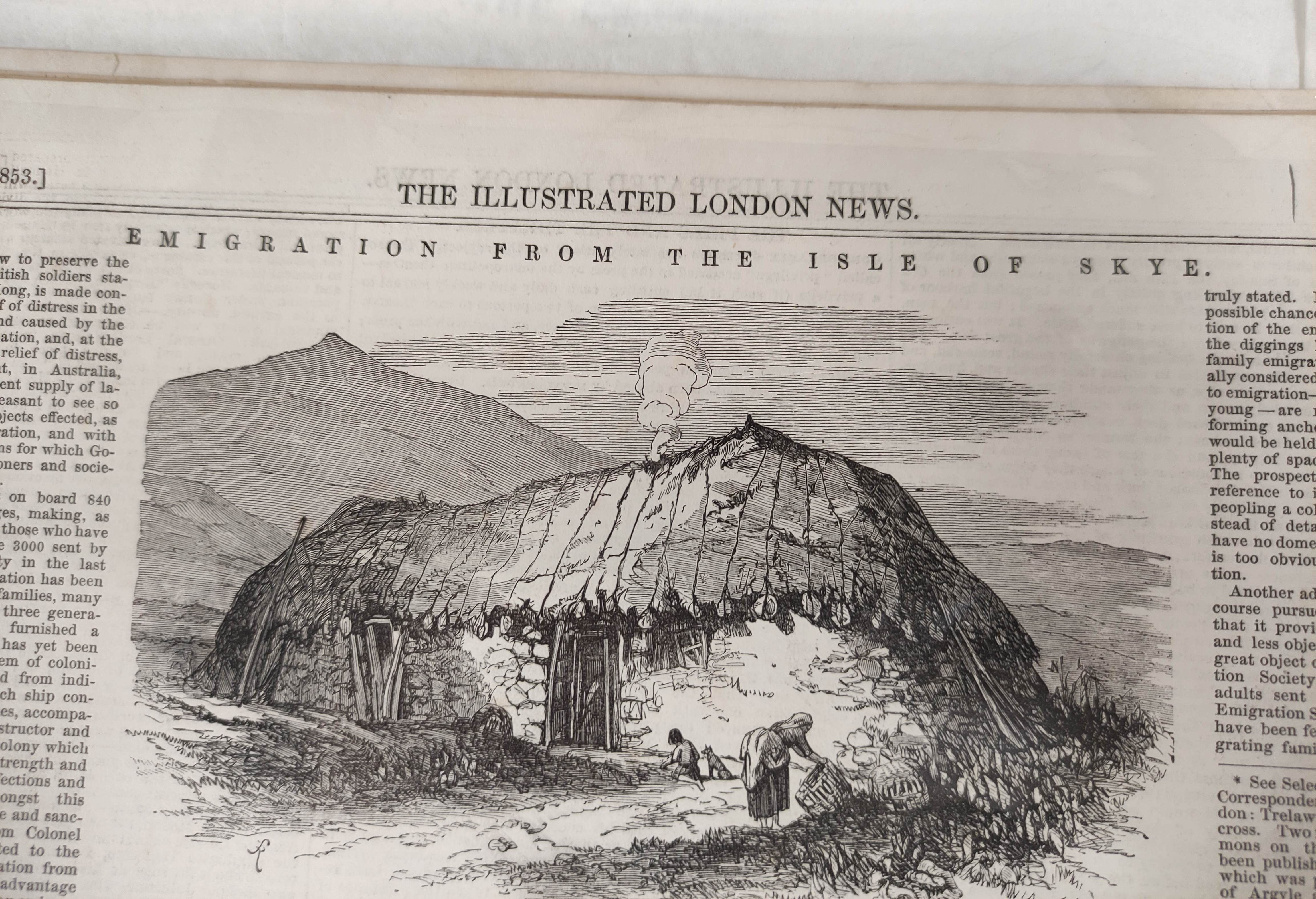 Illustrated London News, The Graphic & other periodicals. A collection of extracts & loose illus. - Image 8 of 9
